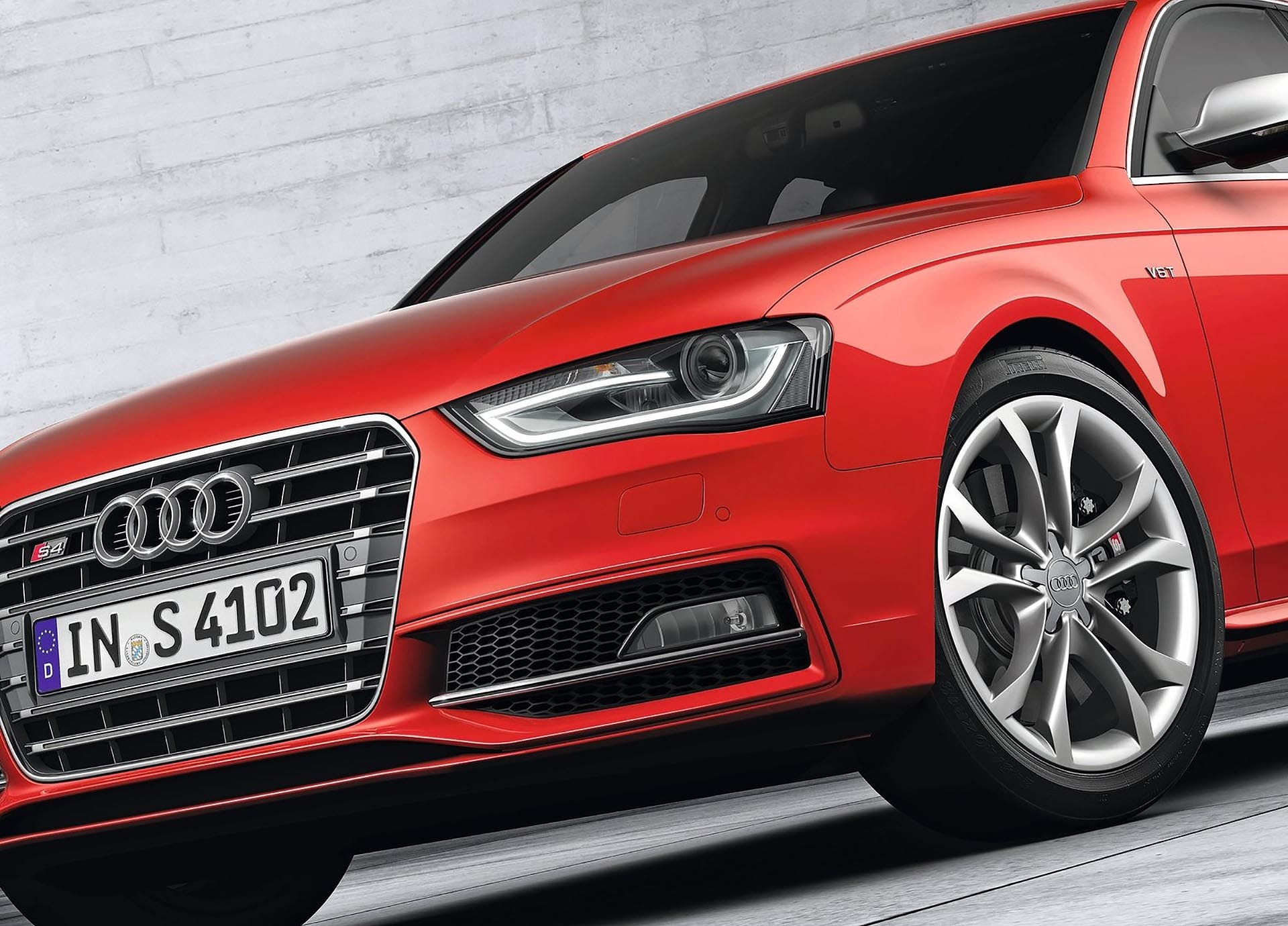 09_B8.5 Audi S4 front detail