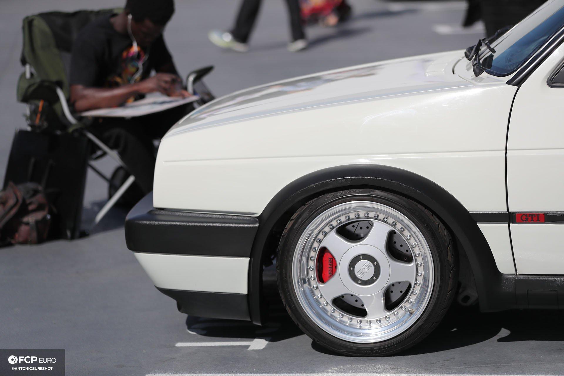 VW GTI w OZ Racing wheels