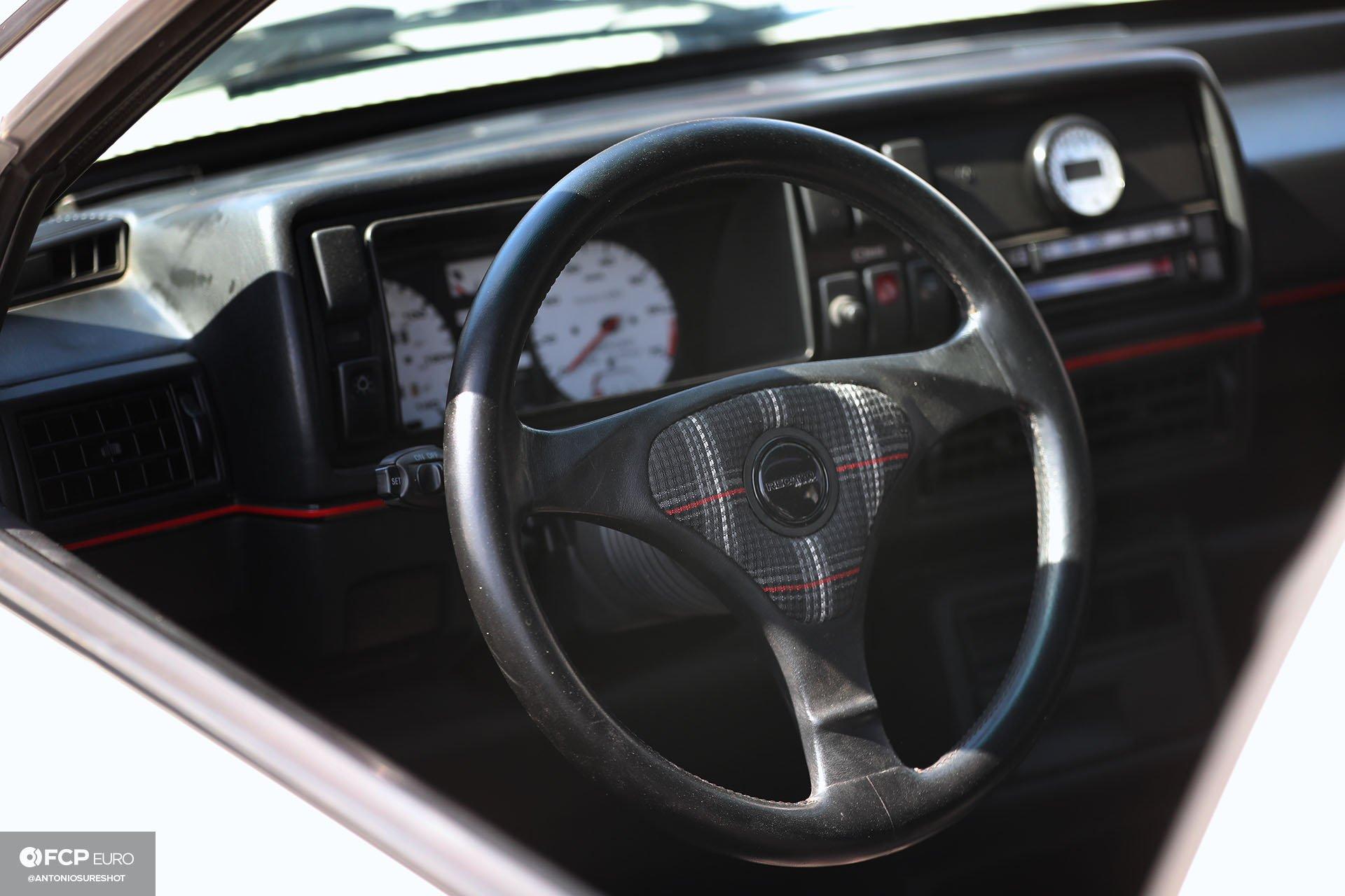 VW GTI steering wheel