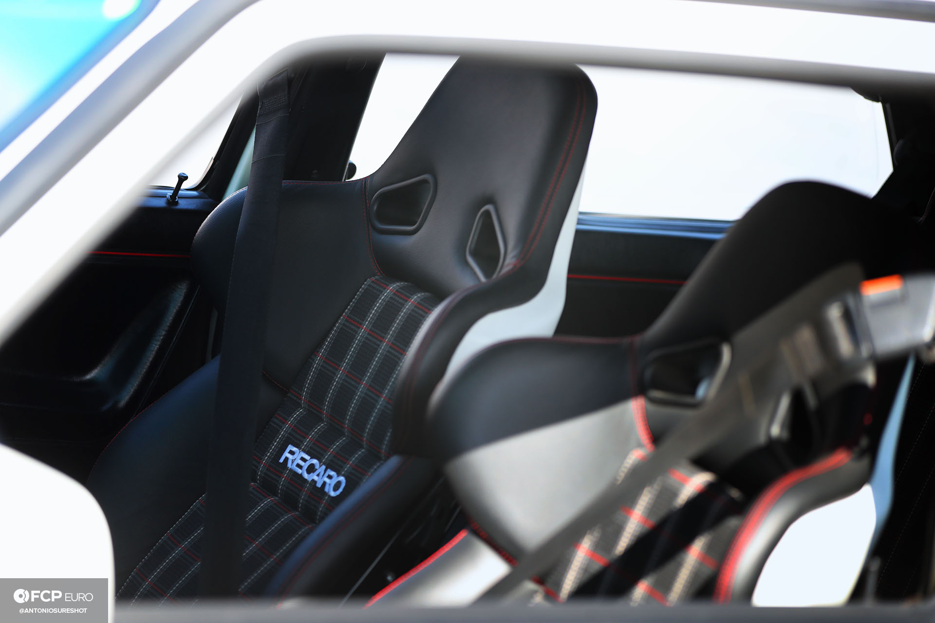 Recaro seat interior VW Golf GTI