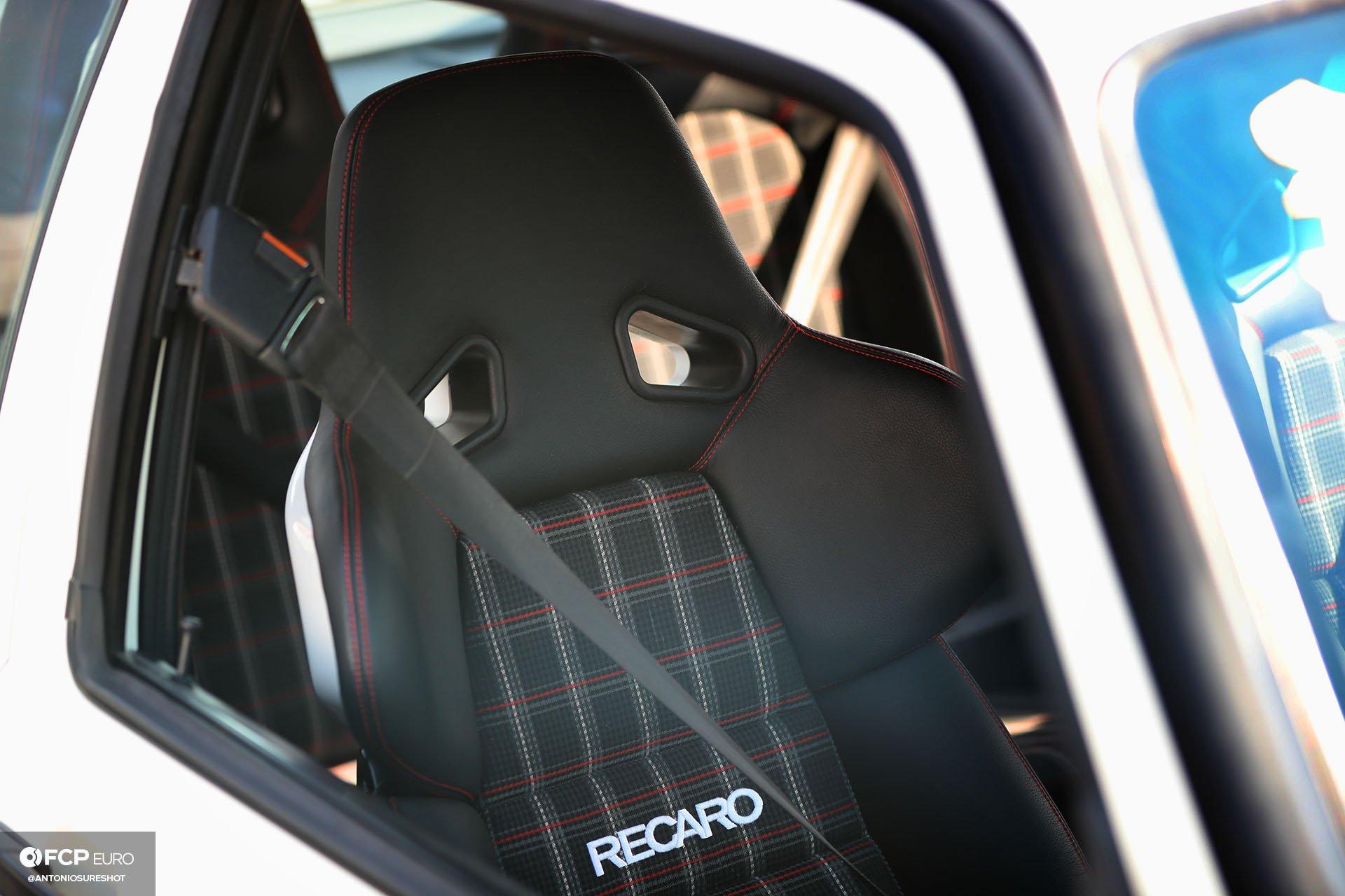 VW GTI Recaro reclining seats