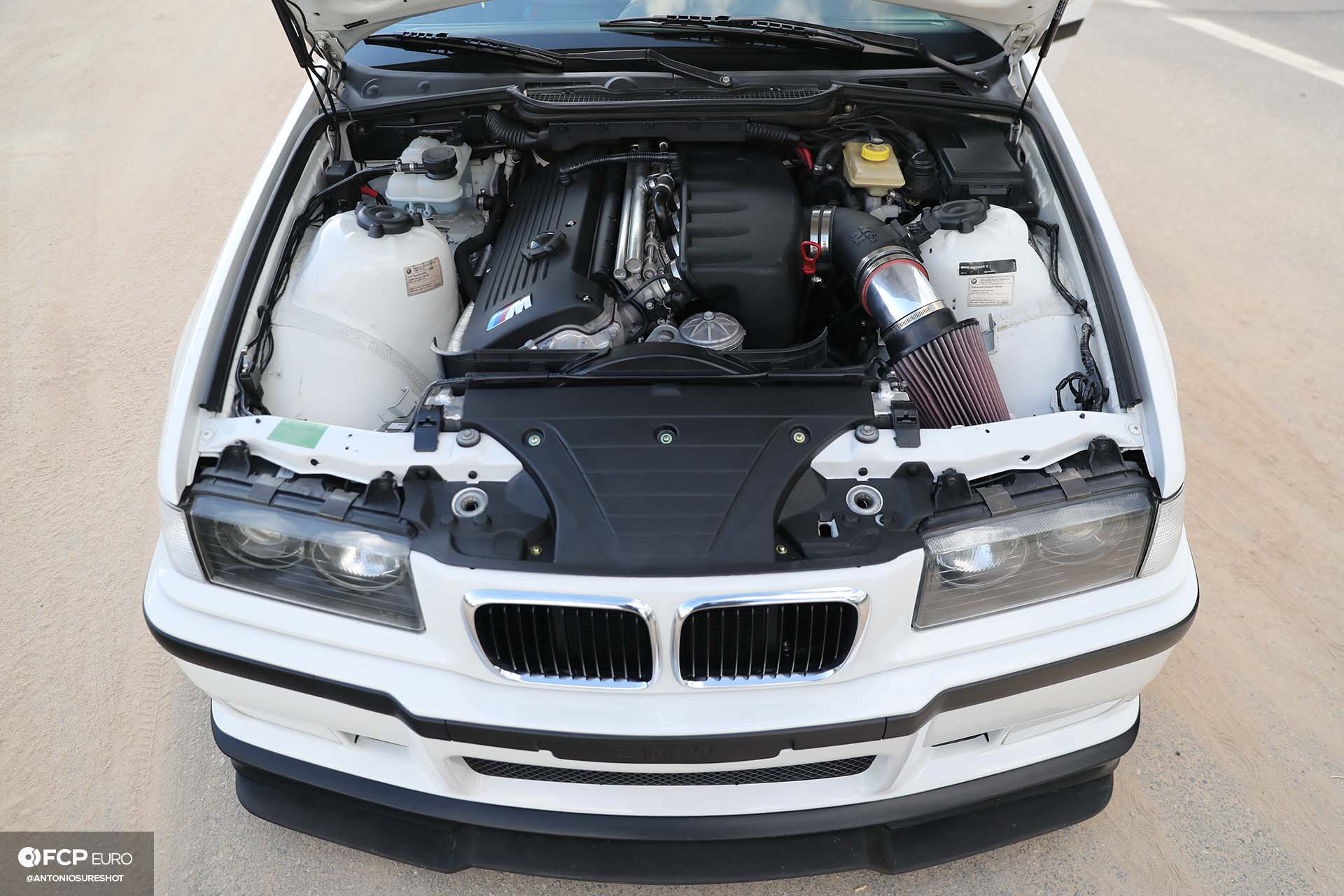 Garage Welt E36 BMW M3 4door sedan S54 swap