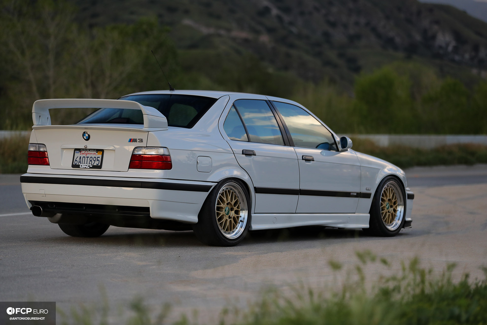 Garage Welt E36 BMW M3 4door sedan BBS Brembo