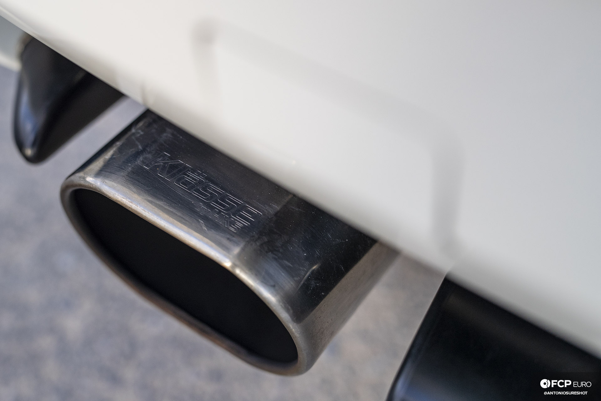 Garage Welt E36 BMW M3 HKS Klasse exhaust