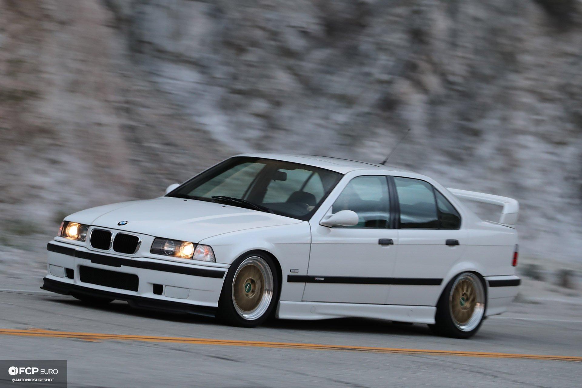 Garage Welt E36 BMW M3 4door sedan BBS Brembo