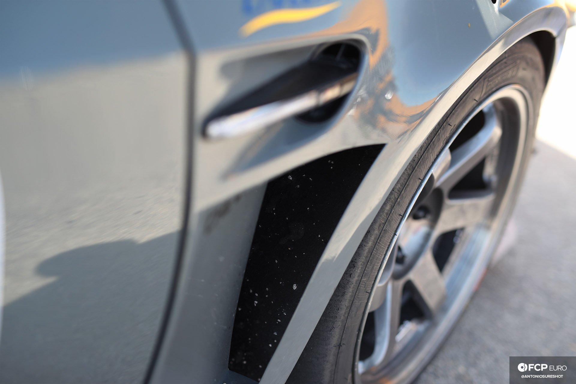 Bimmer Challenge BMW E92 M3 Volk Racing TE37 Wheels and Vented Fenders