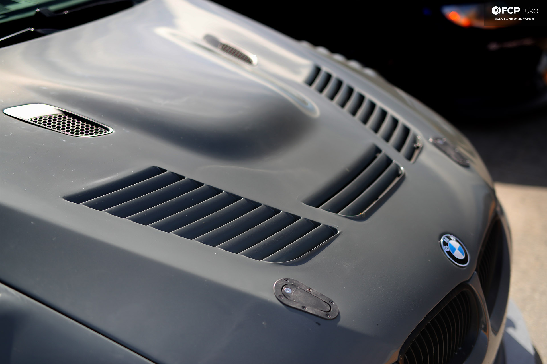 Bimmer Challenge BMW E92 M3 Motorsport 24 Vented Louvered Hood FCP Euro