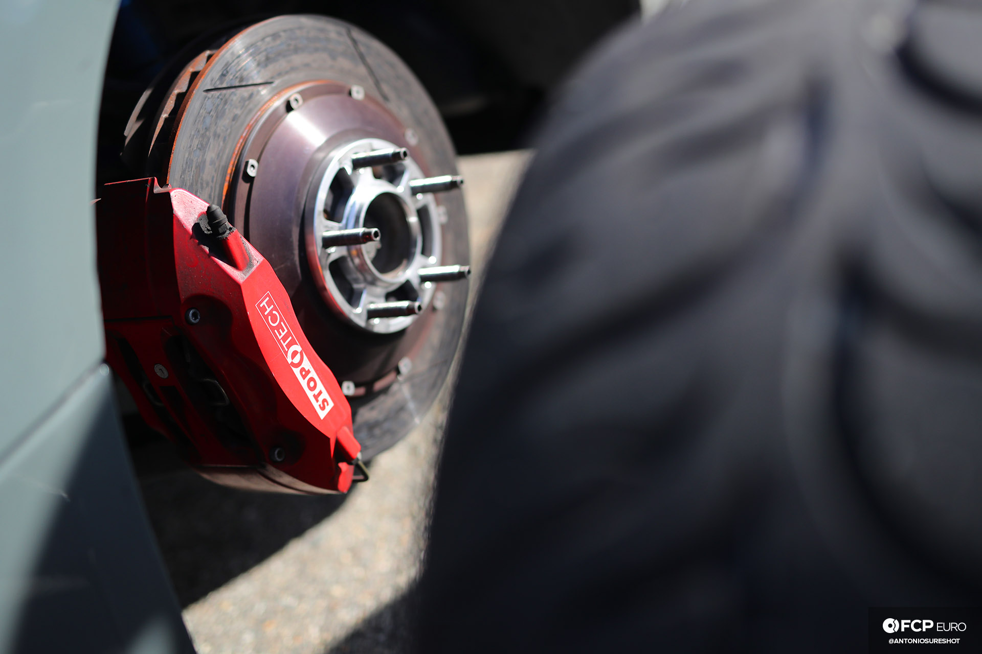 Bimmer Challenge BMW E92 M3 StopTech Brakes