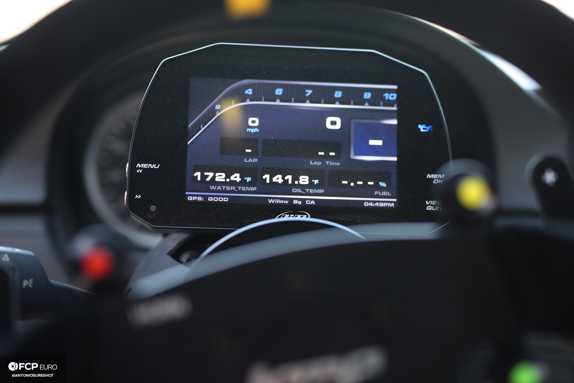 Bimmer Challenge BMW E92 M3 Aim Sports Digital Dashboard Motec FCP Euro