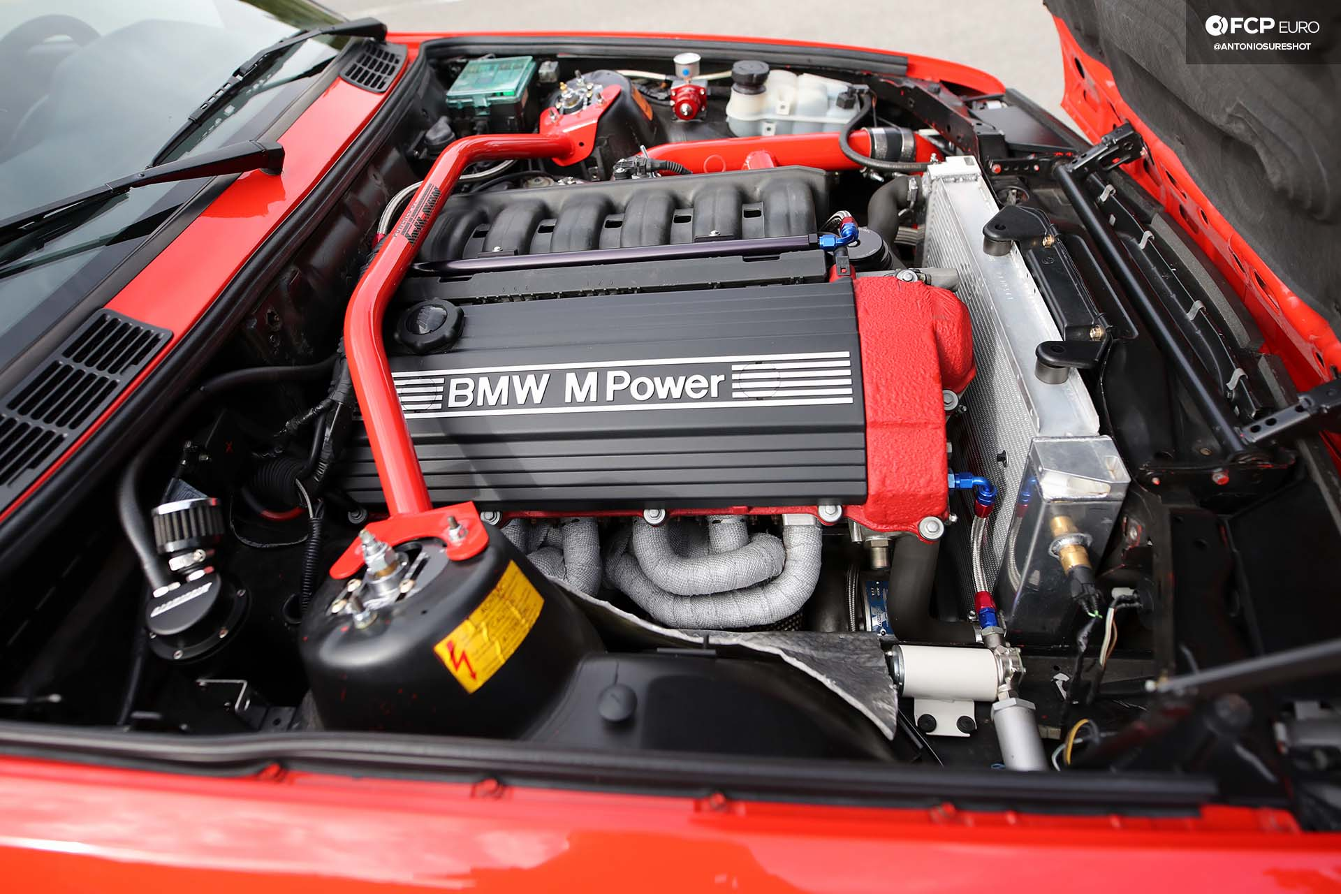 E30 M3 Supercharged metal widebody engine swap S50 Z3 M50