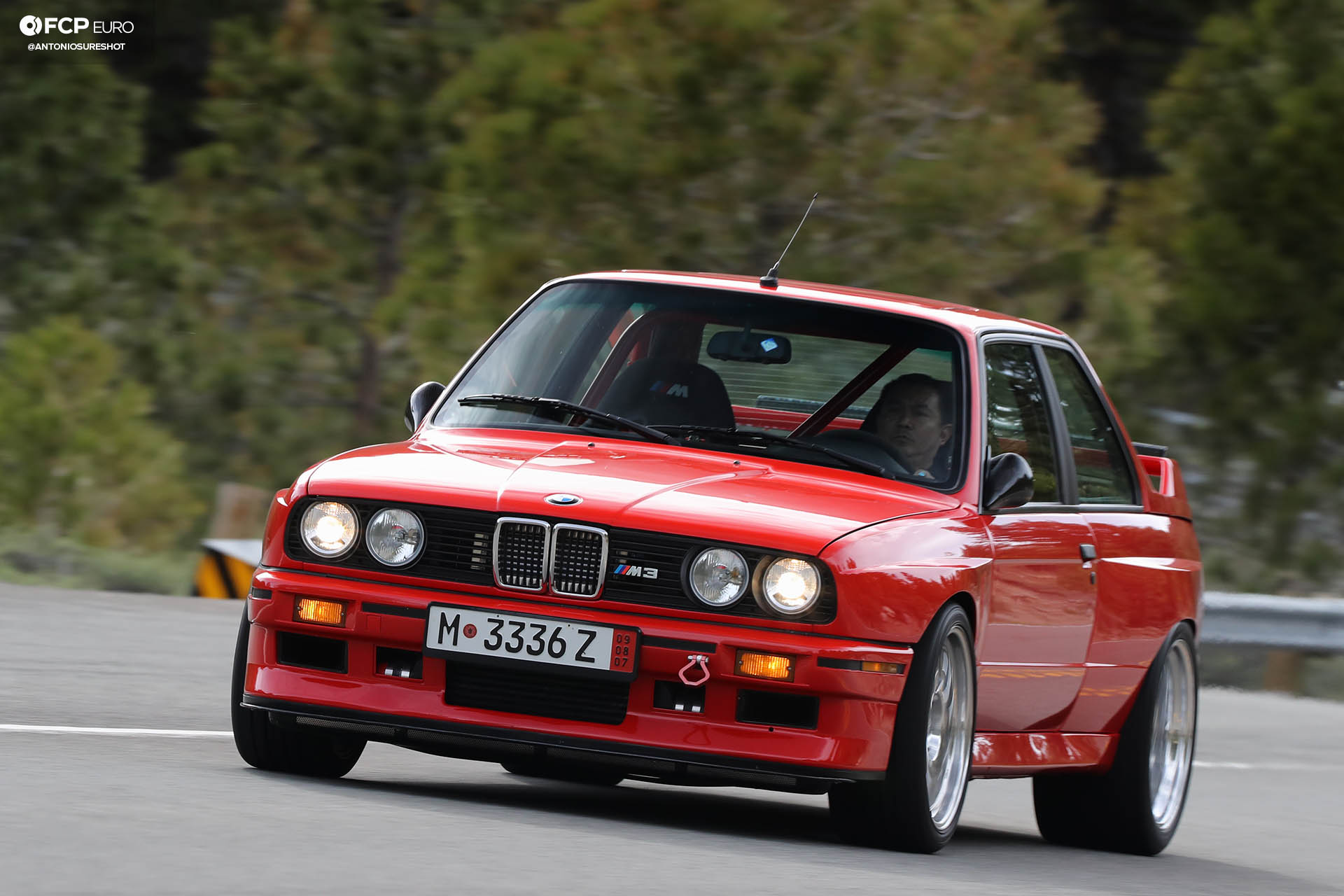 E30 M3 Evo Supercharged metal widebody Sierra Mountains Bilstein Eibach Ground Control AKG Ireland Engineering S50