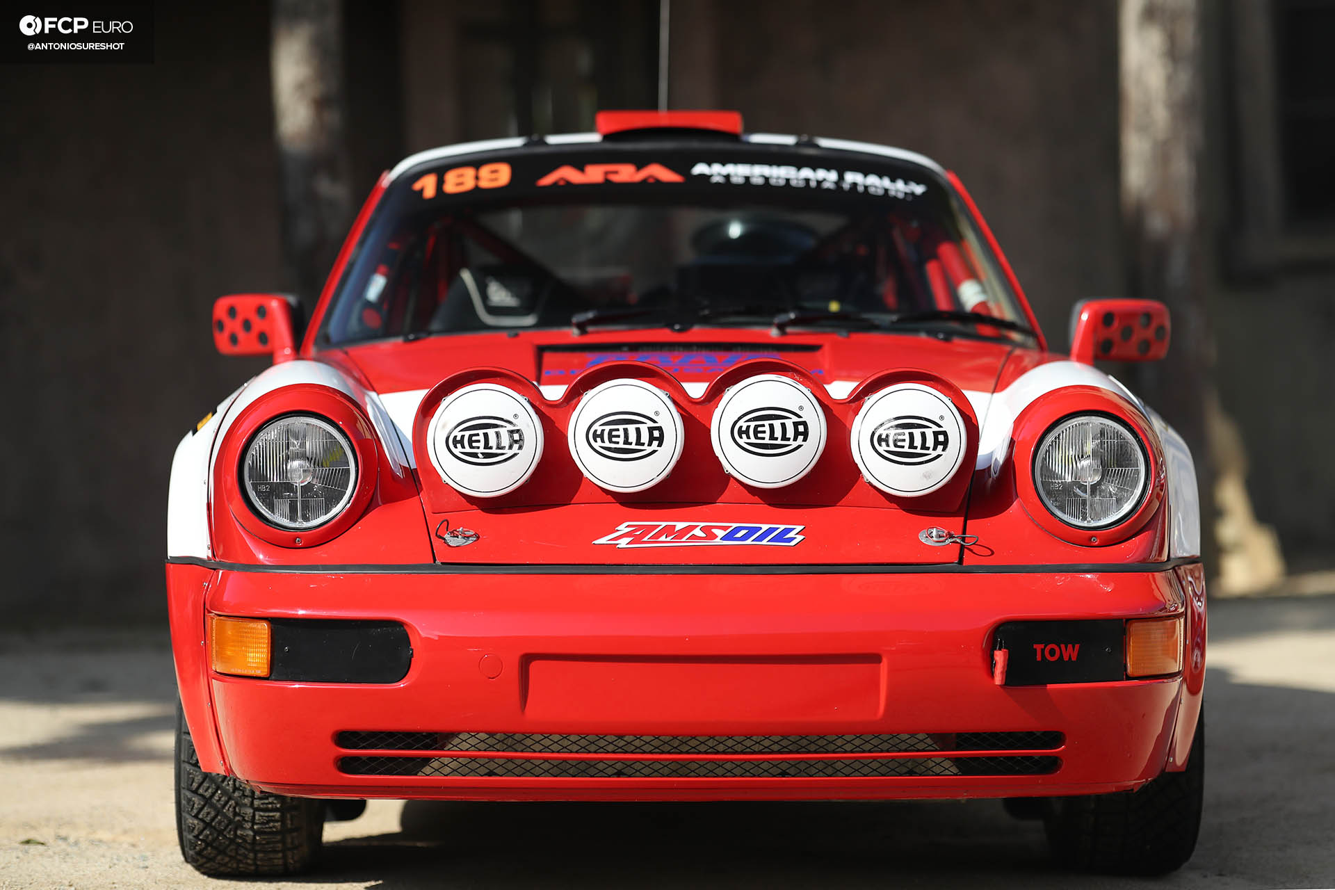 Safari 964 Rothsport Racing Porsche 911 Rally Car Mexican 1000 Luftgekuhlt Olympus Rally