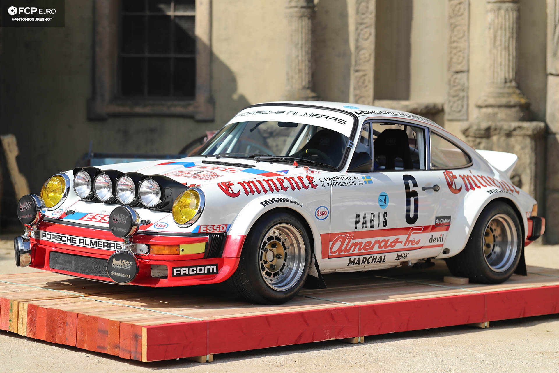 Luftgekühlt Air Cooled Porsche 1979 930 Rallye Monte Carlo