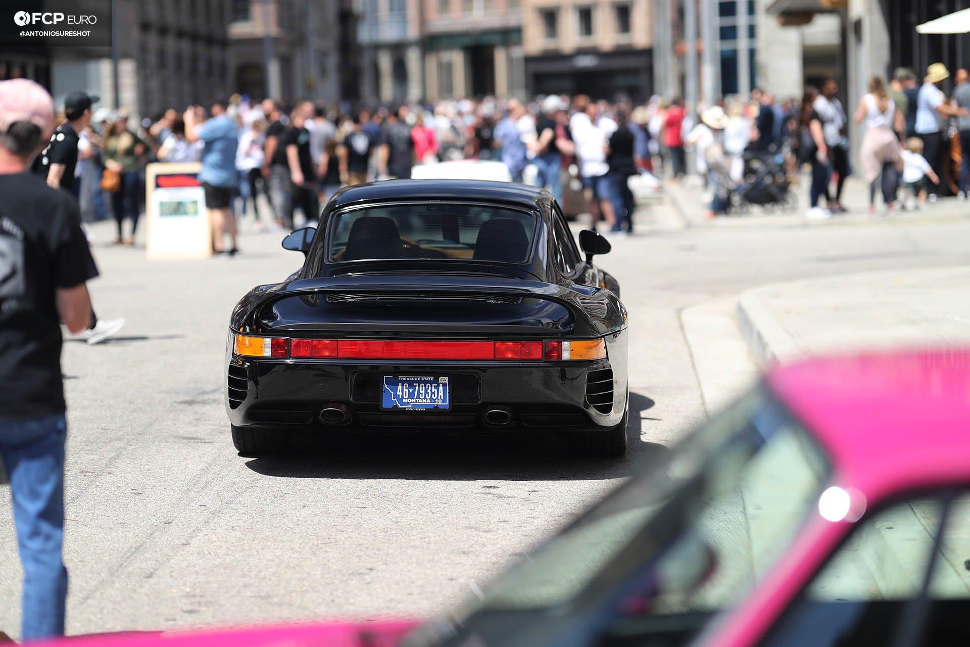 Luftgekühlt Air Cooled Porsche Universal Pictures Back Lot Porsche 959