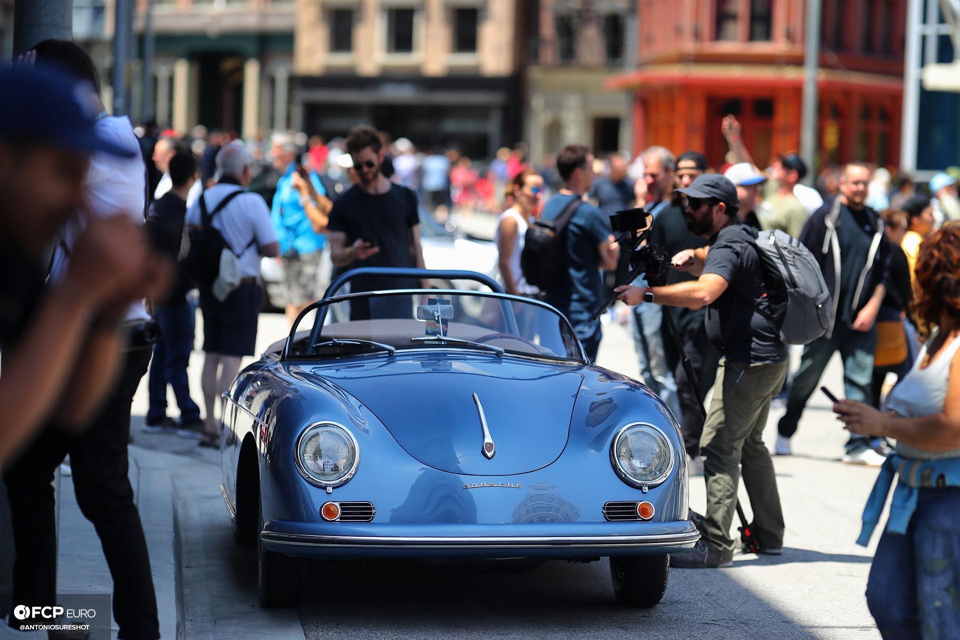 Luftgekühlt Air Cooled Porsche Universal Pictures Back Lot