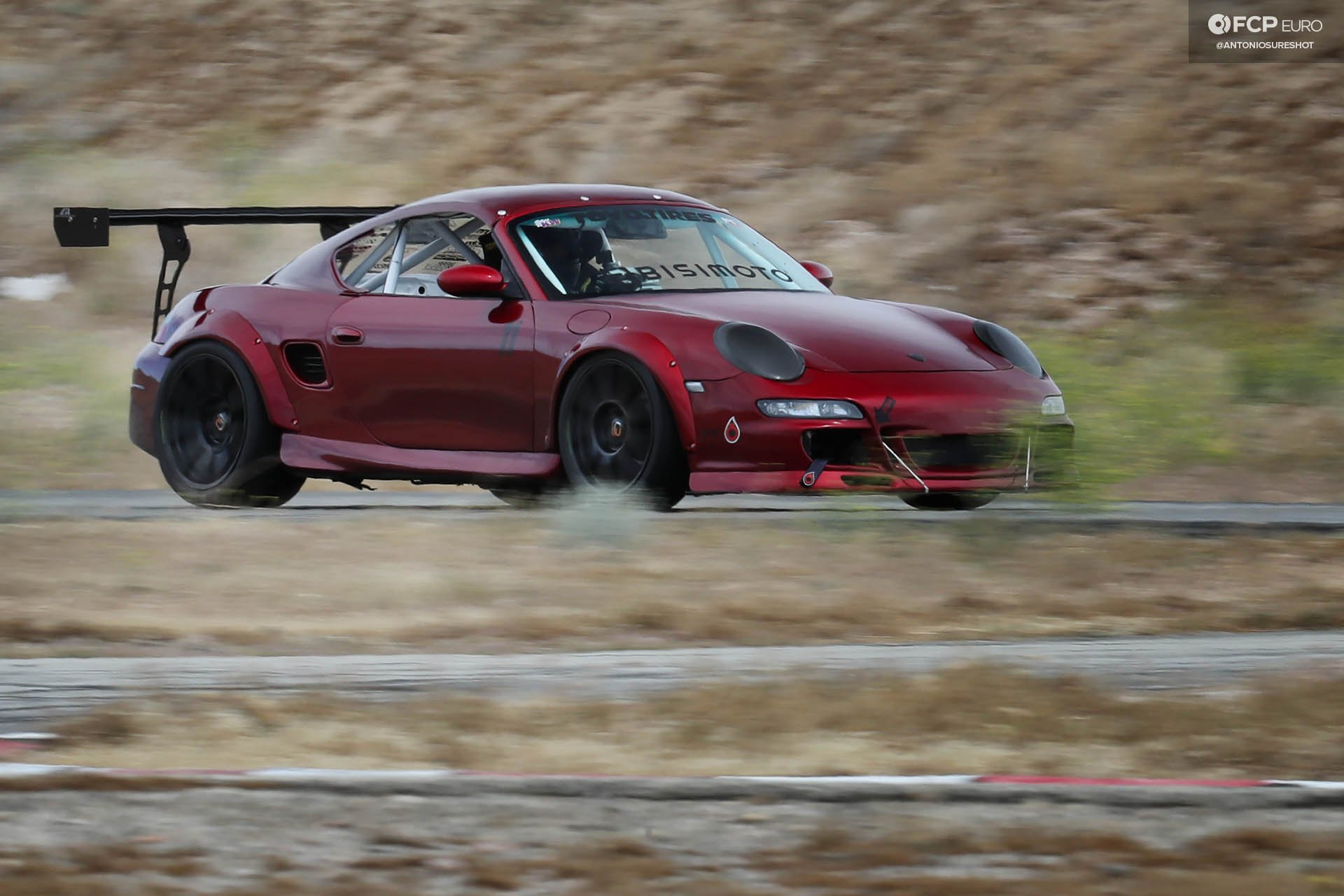 Bisimoto AEM Infinity Porsche Boxster 986 Twin Turbo Center Seat with 997 GT3 facelift