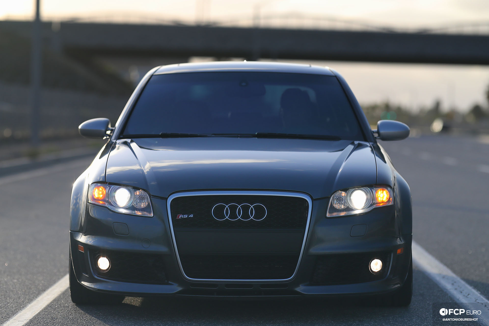 Audi B7 RS4 front shot