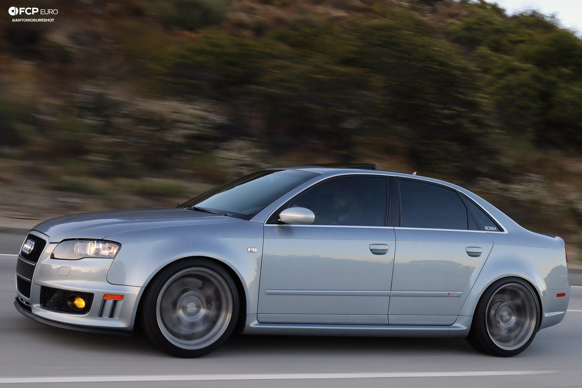 B7 Audi RS4 H&R coilovers AG Wheels Gamble House Tatosian