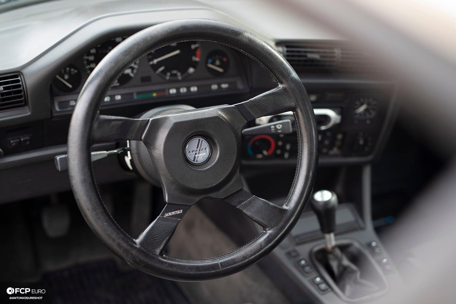 E30 BMW Hartge H26 Momo Steering Wheel
