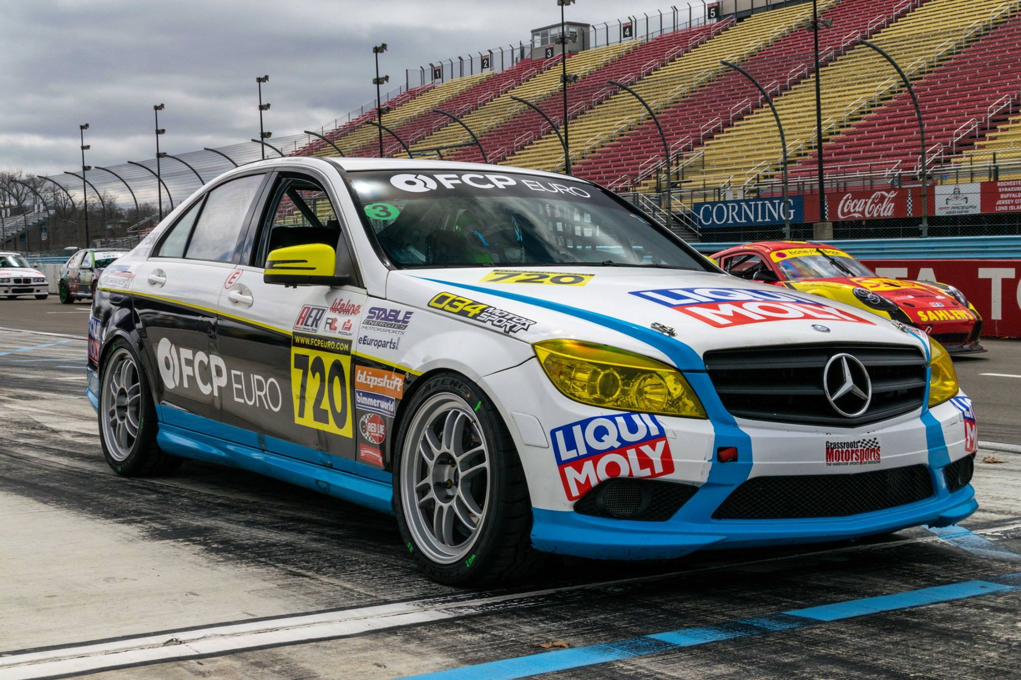 2010 Mercedes C300 Race Car 2