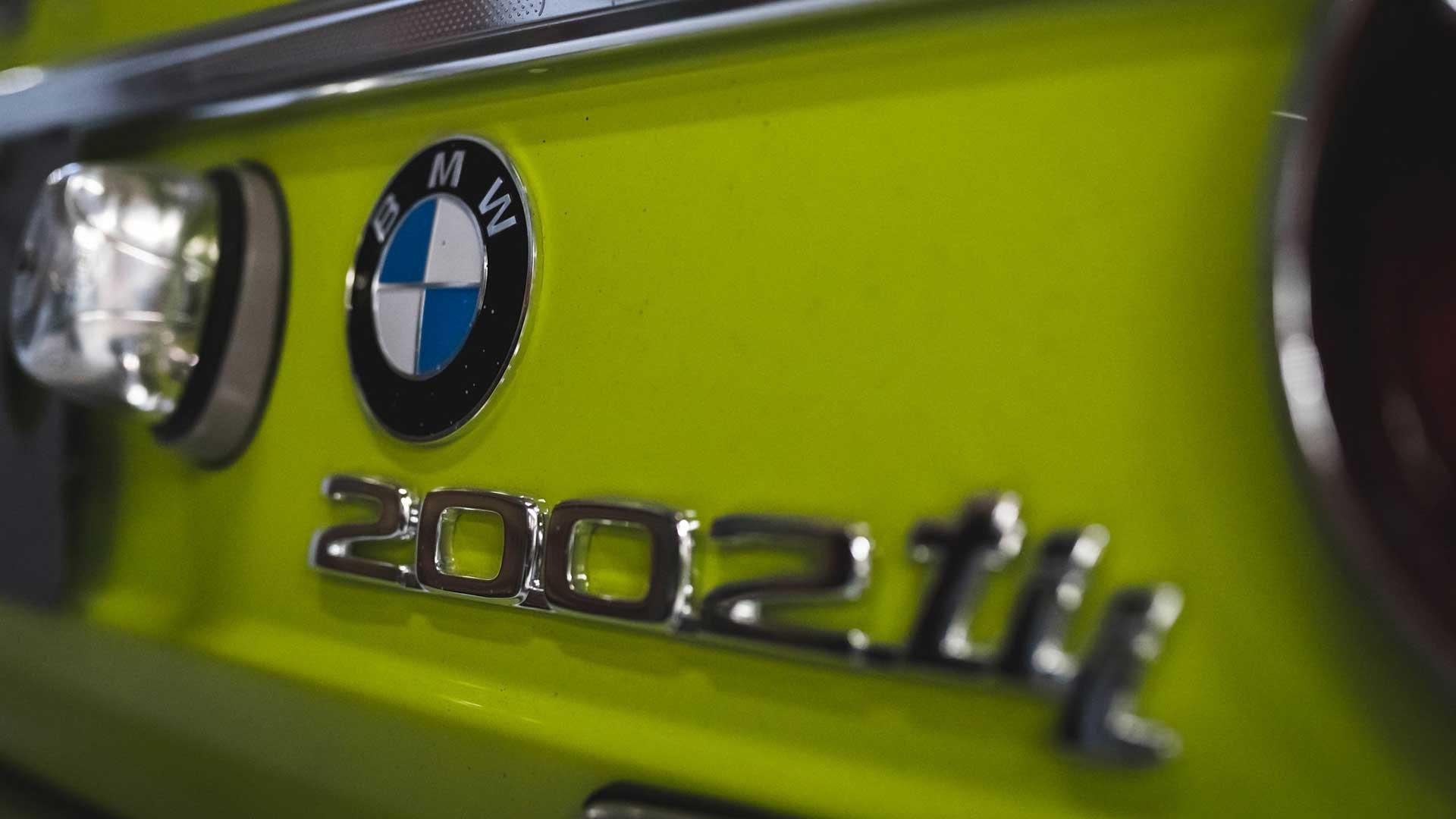 BMW 2002tii rear bumper