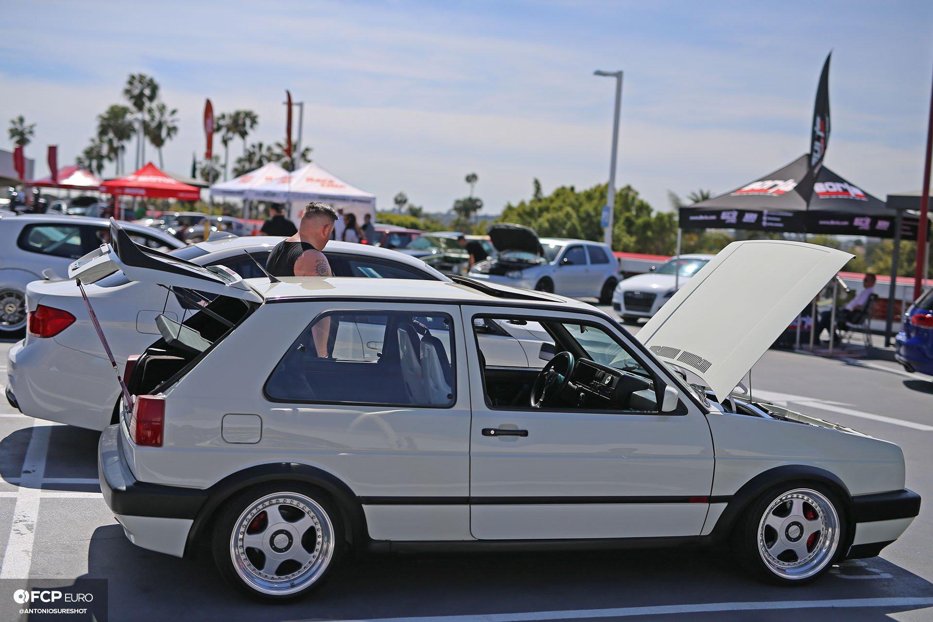 VW GTI w OZ Racing 3 piece wheels