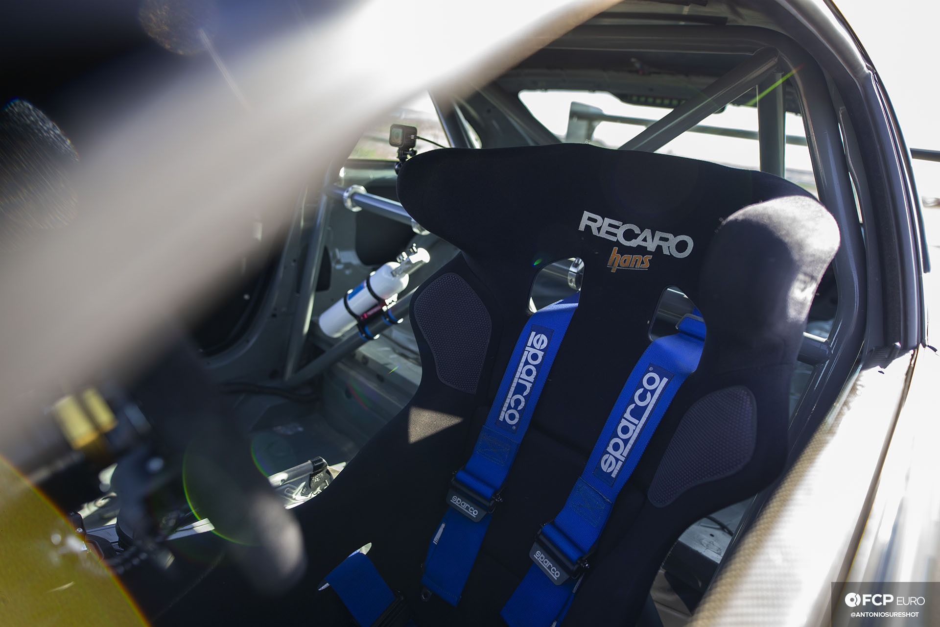 Bimmer Challenge BMW E92 M3 Recaro Hans XL Seat FCP Euro