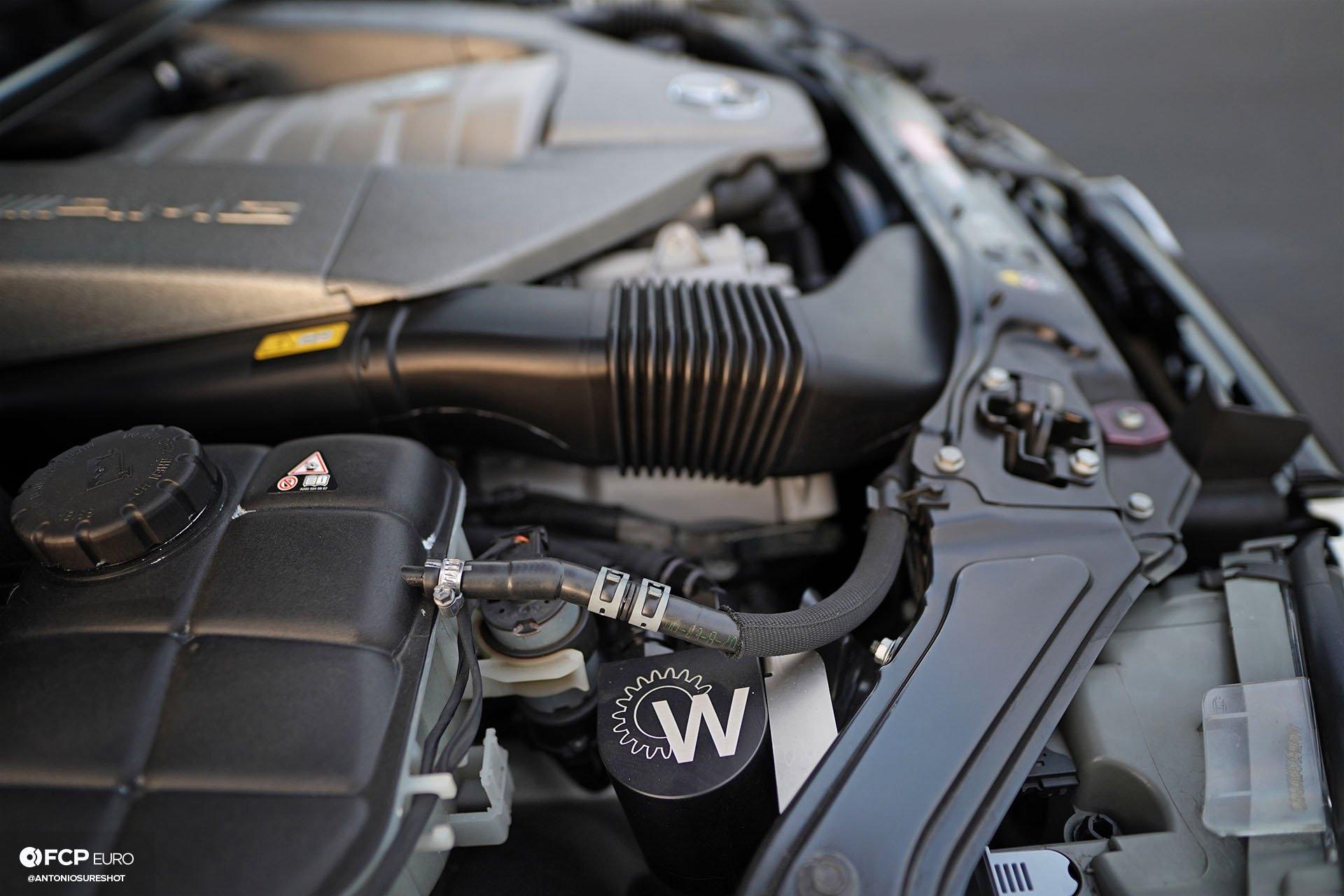 Mercedes Benz AMG CLK63 Black Series M156 Weistec