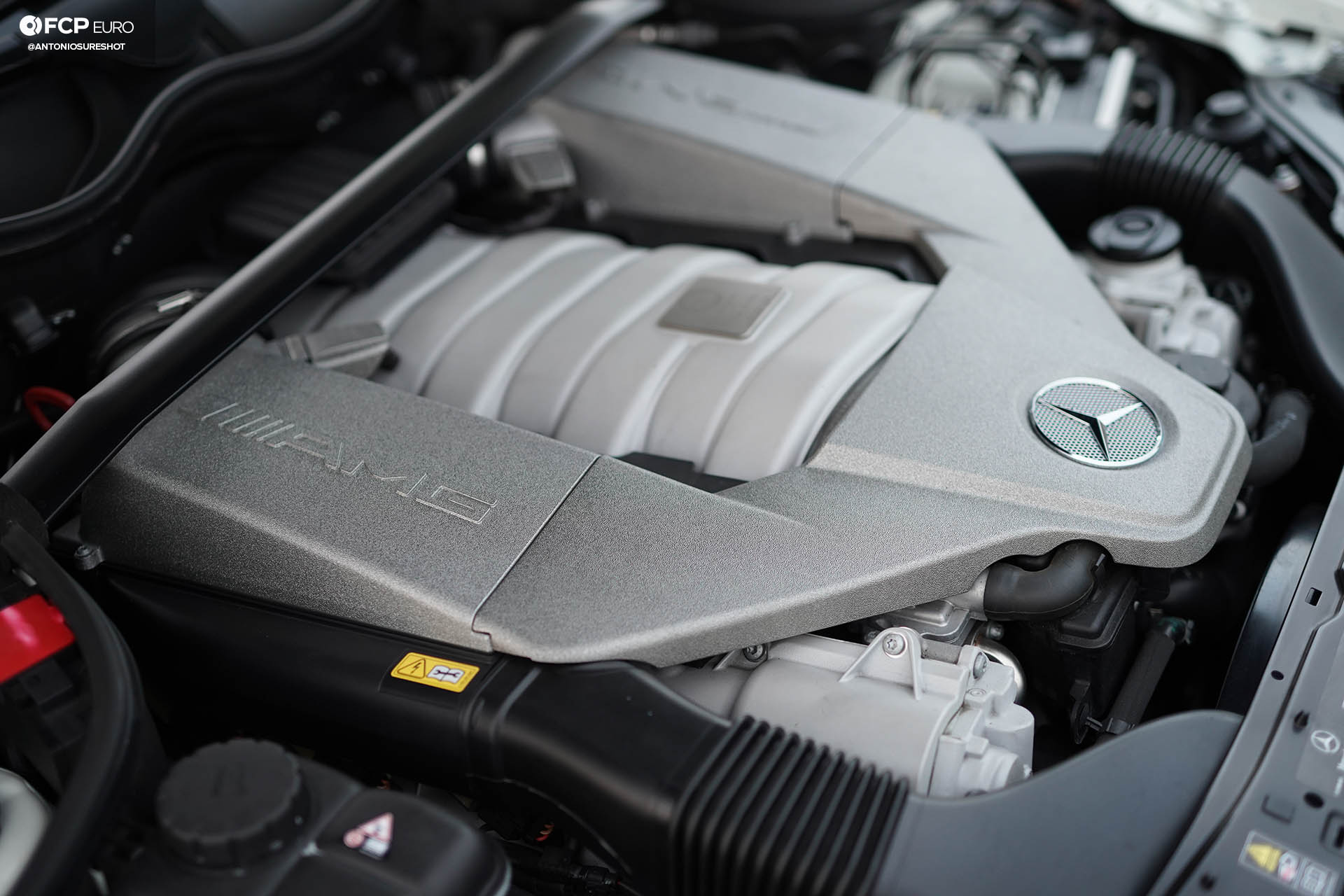 Mercedes Benz AMG CLK63 Black Series M156
