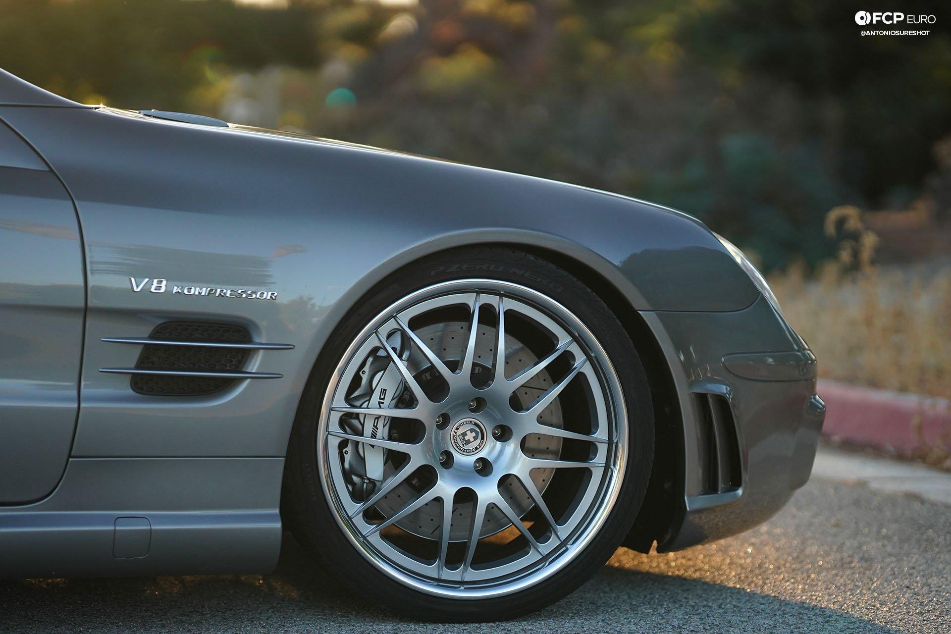 AMG SL55 030 roadster Weistec supercharger HRE wheels Wavetrac LSD