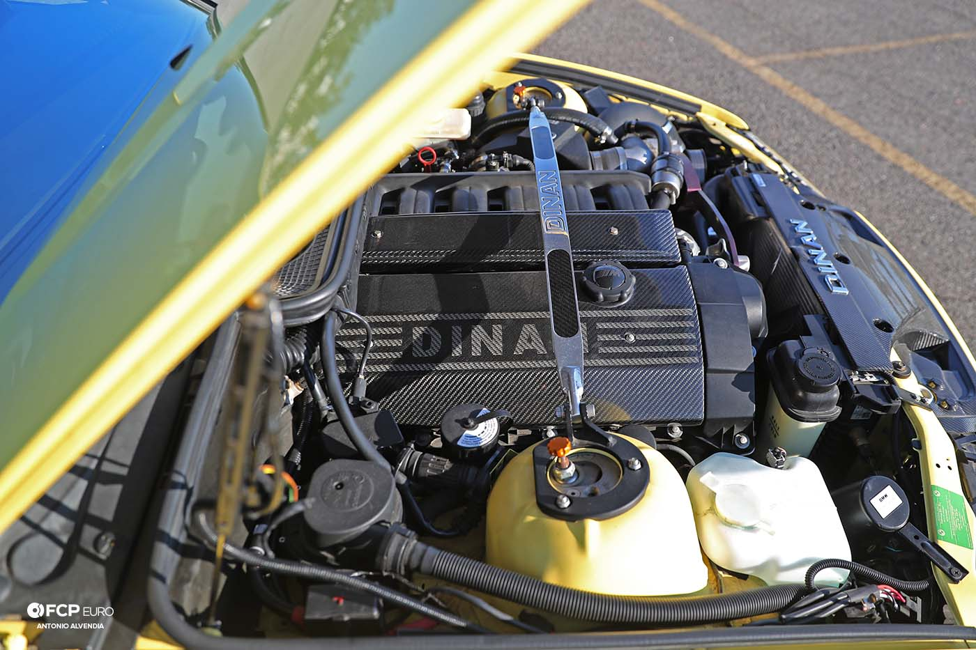 S52 M3 engine Dinan Supercharger