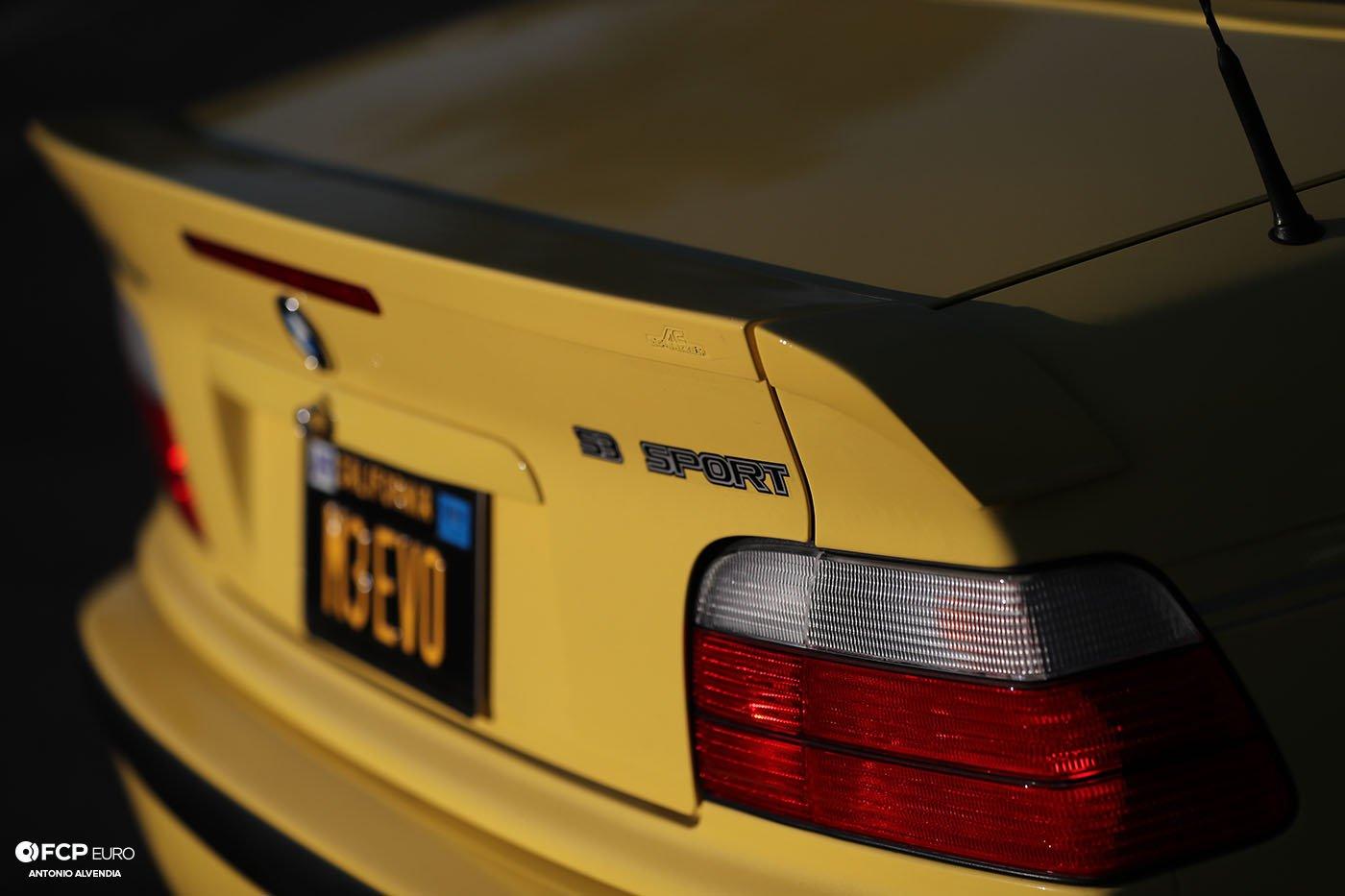 AC Schnitzer E36 3piece wing S3 Sport M3 Convertible