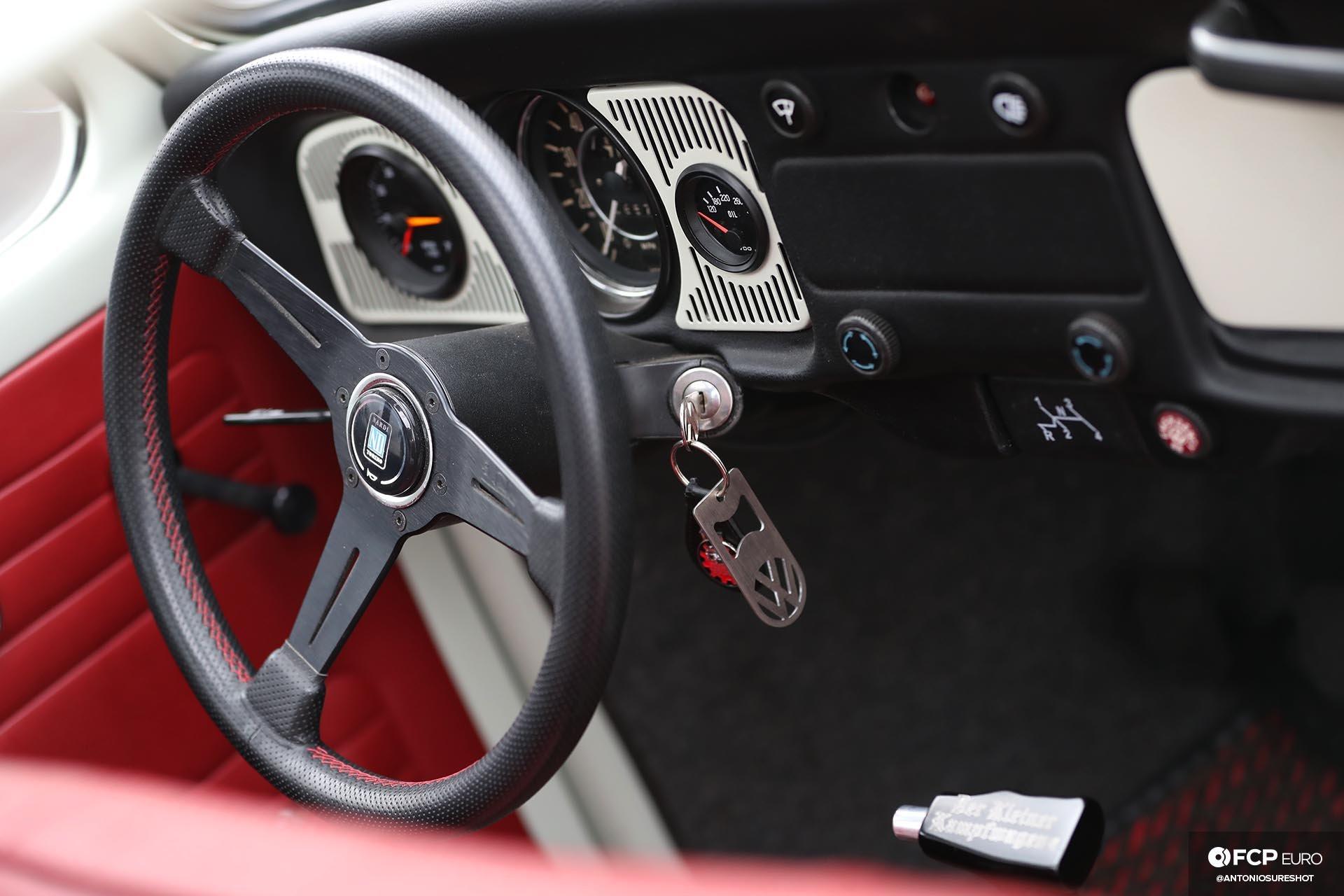 Volkswagen Beetle Closeup Interior