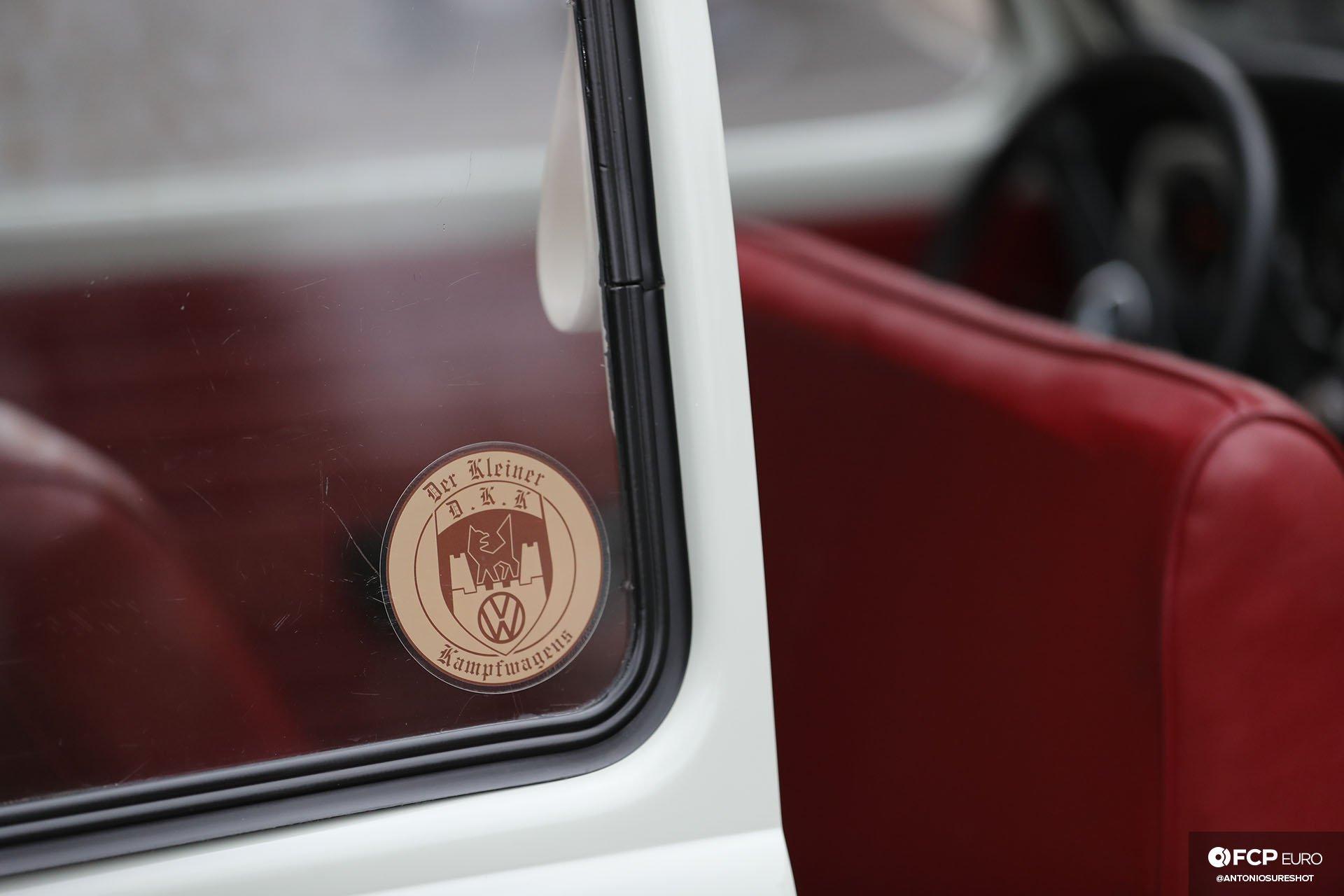Volkswagen Beetle Der Kleiner Kampfwagens Decal