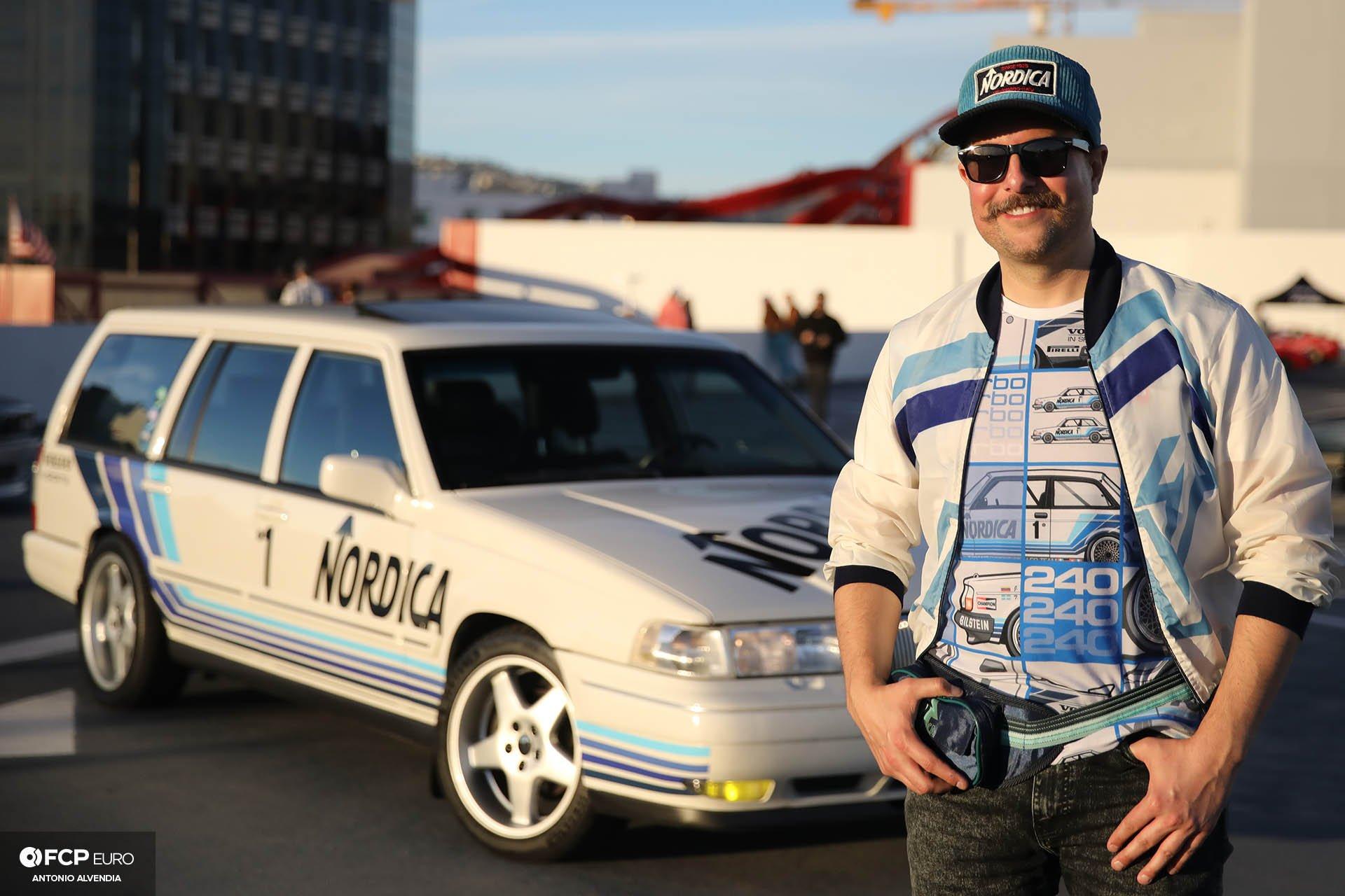 Nordica Volvo V90 Mk II Wagon and Owner