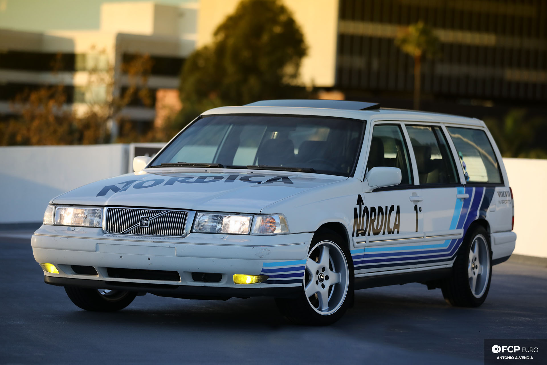 Nordica Volvo V90 Mk II Wagon Front 3/4
