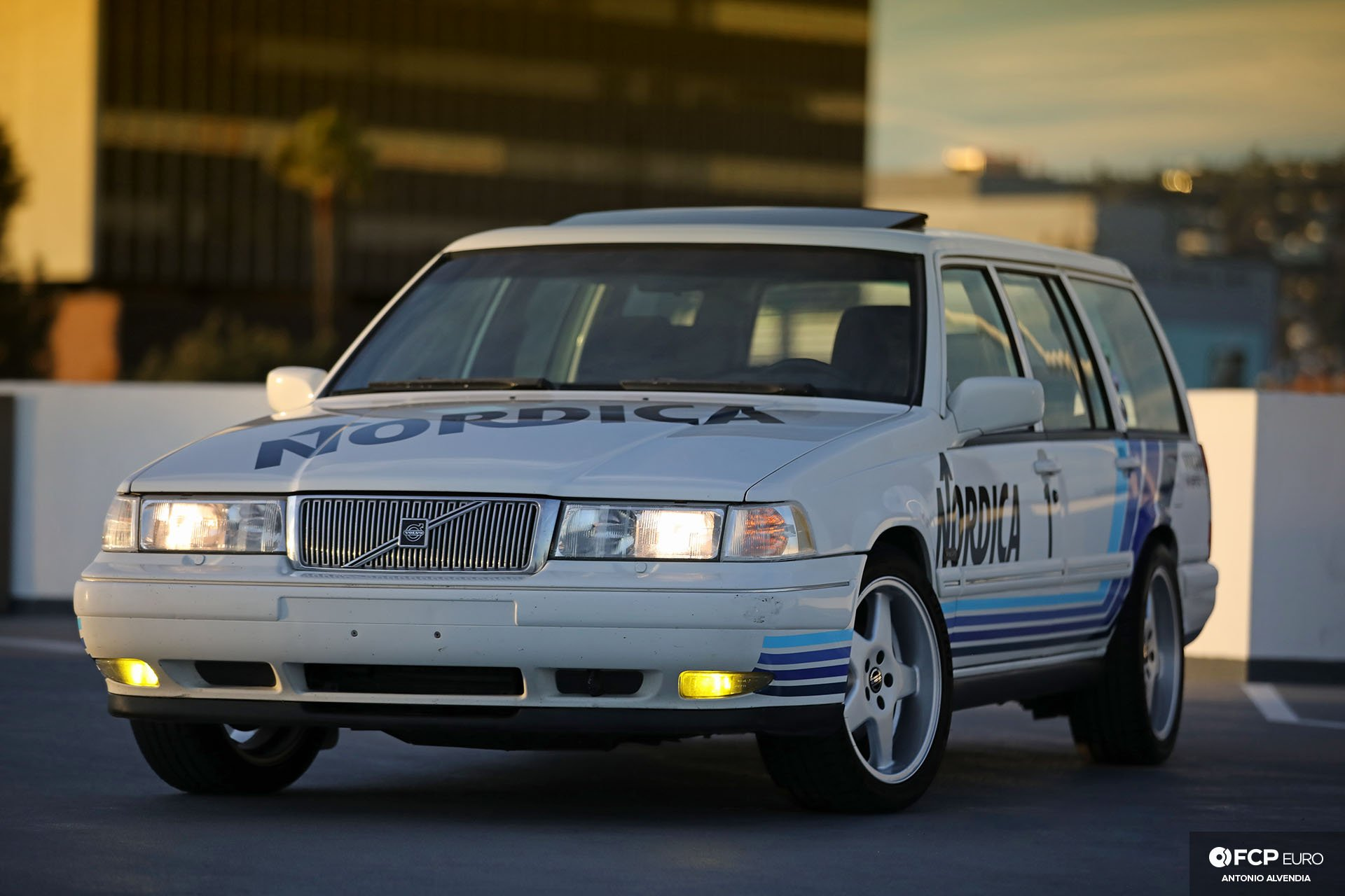 Nordica Volvo V90 Mk II Wagon Head On