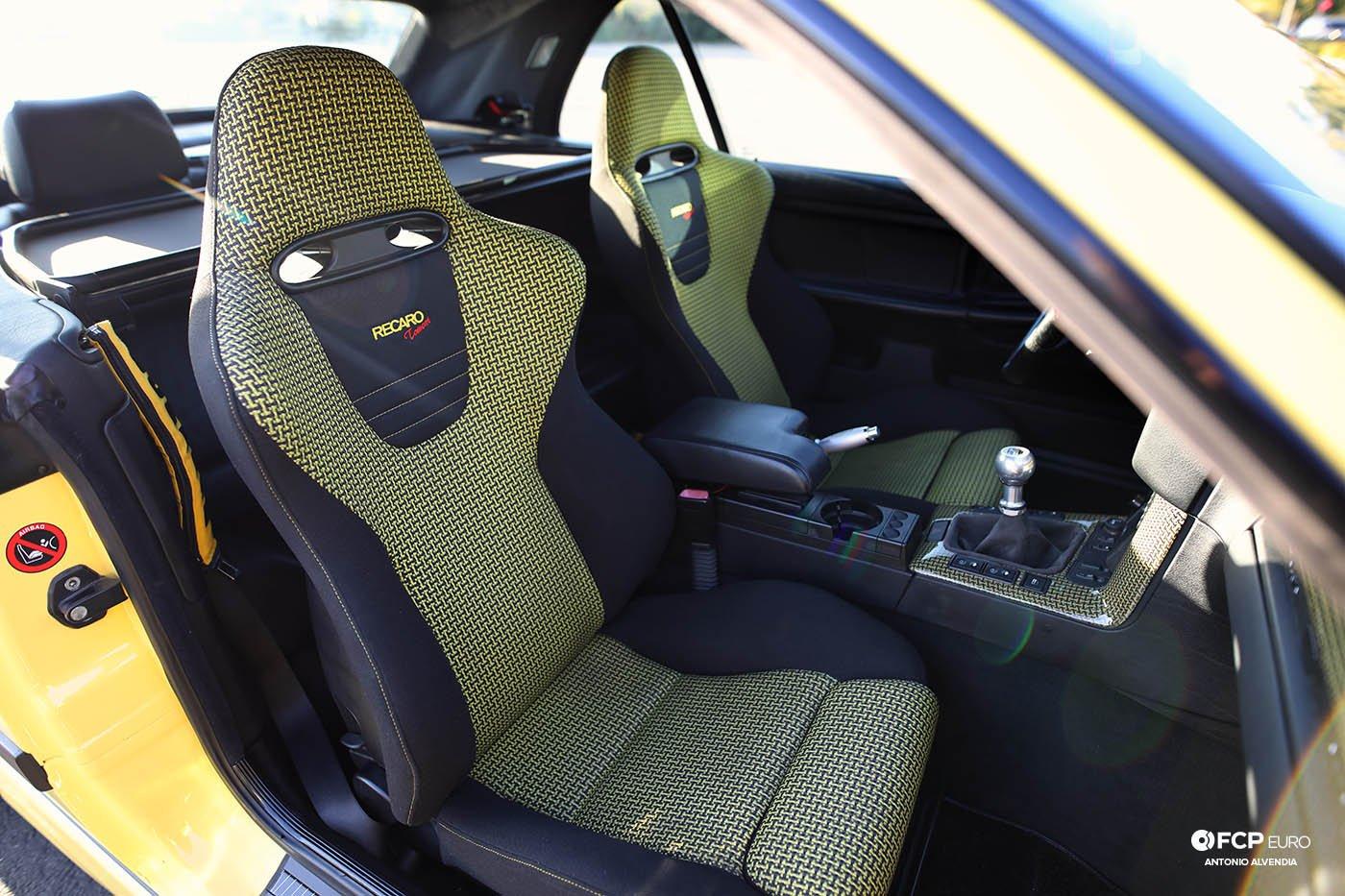Recaro Tomcat seats E36 convertible M3