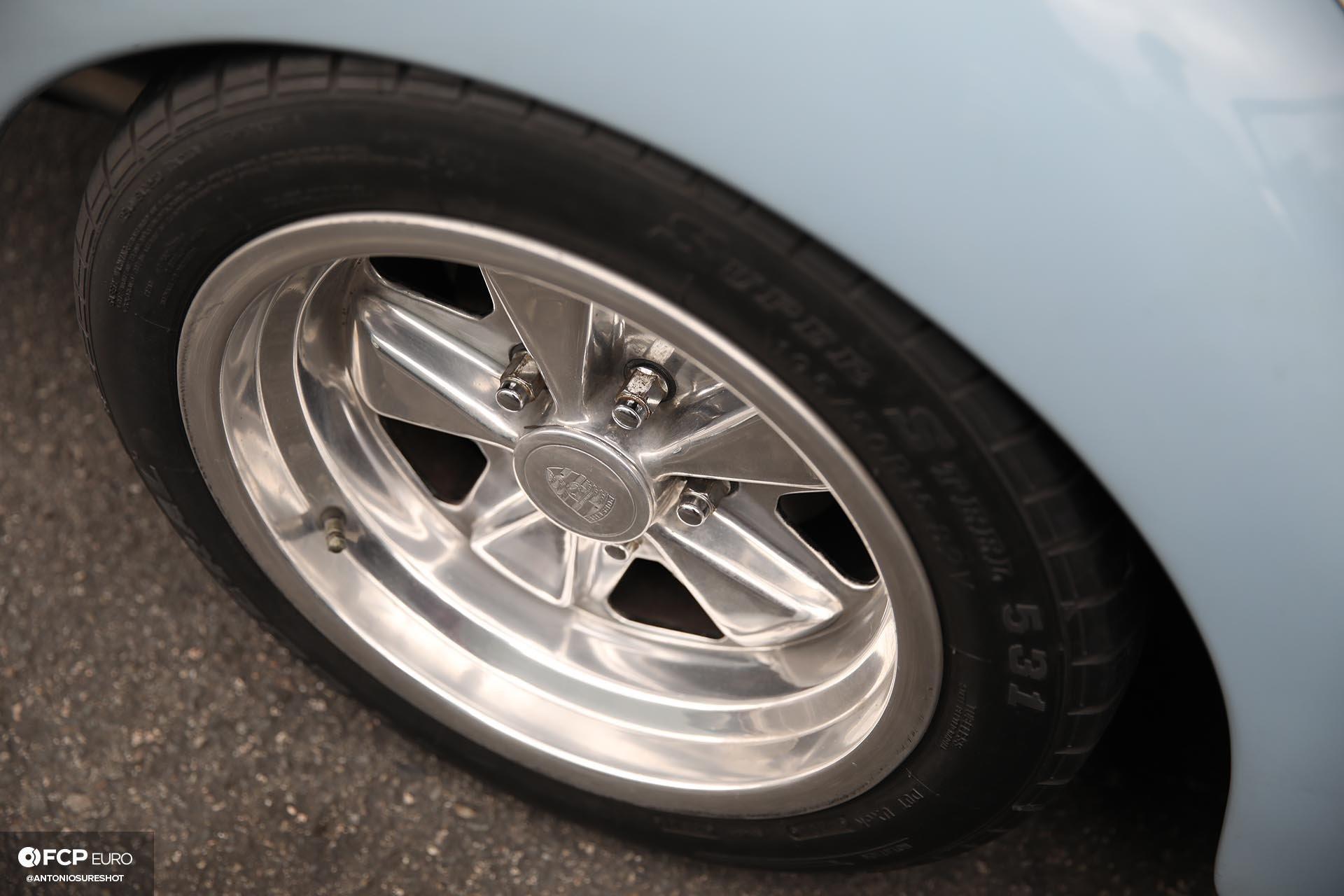 Volkswagen Beetle Fuchs Wheels Closeup
