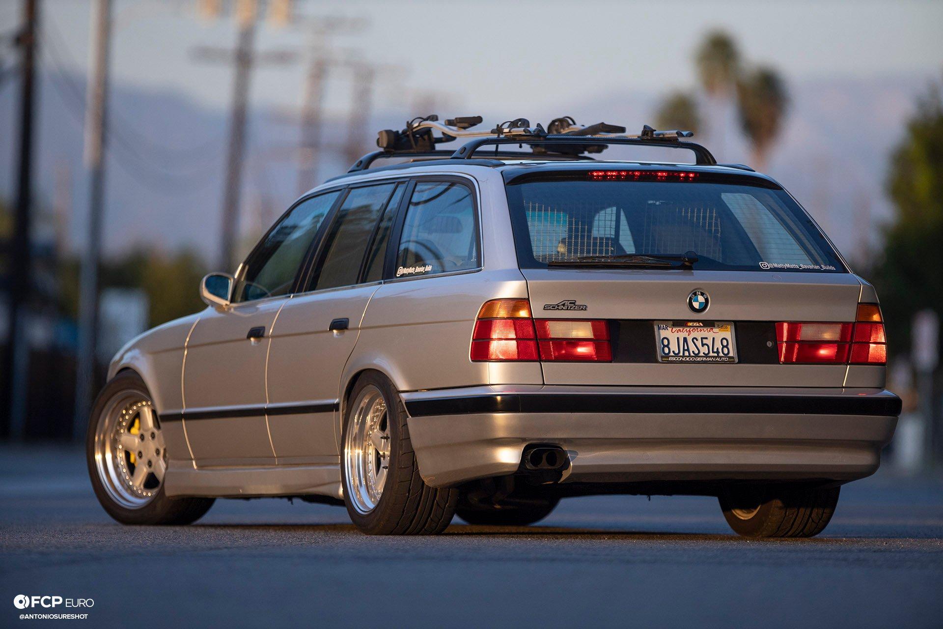 AC Schnitzer E34 Touring BMW Wagon EOSR4020