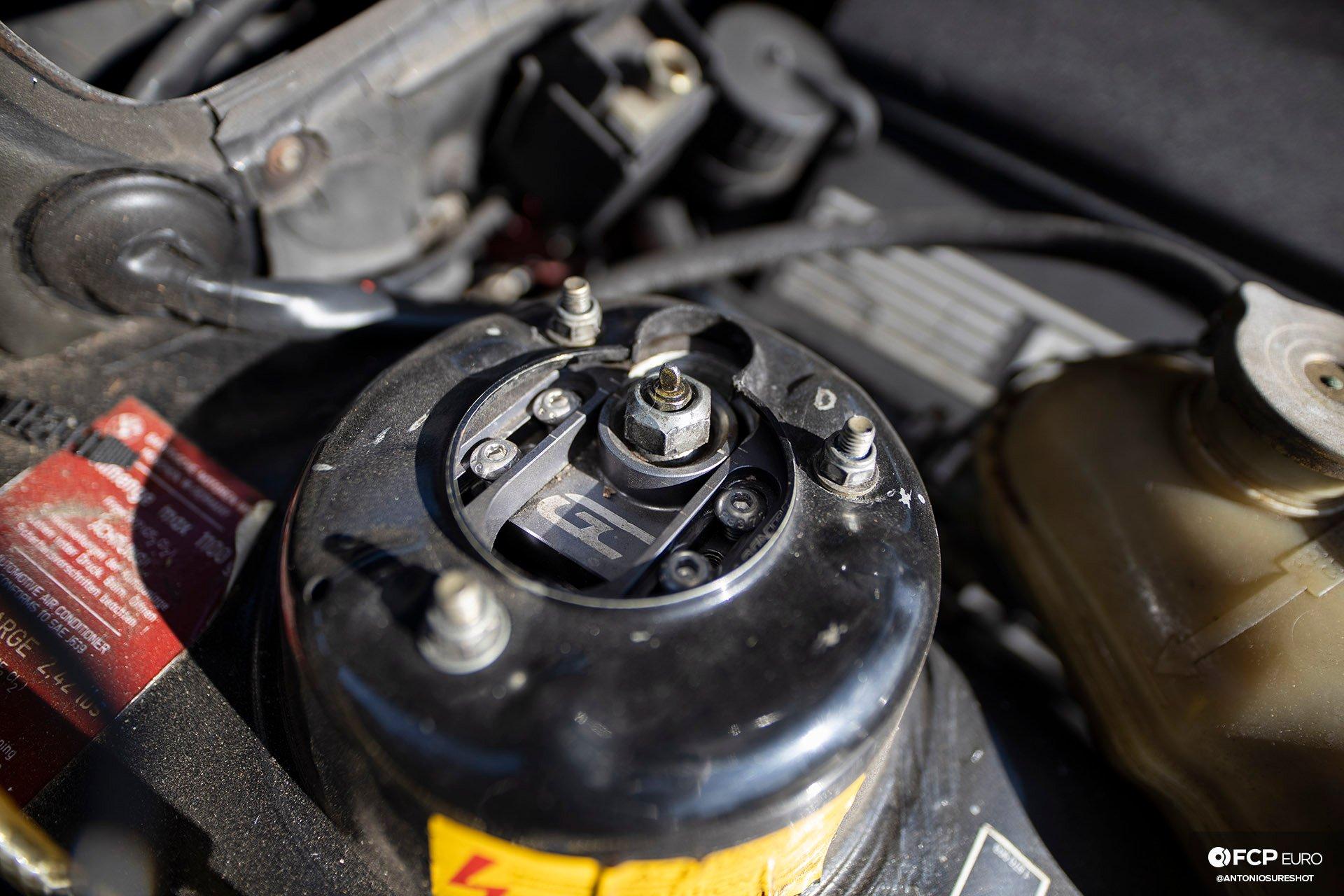 BMW E28 M60B40 V8 Engine Swap 535i Ground Control Camber Plates