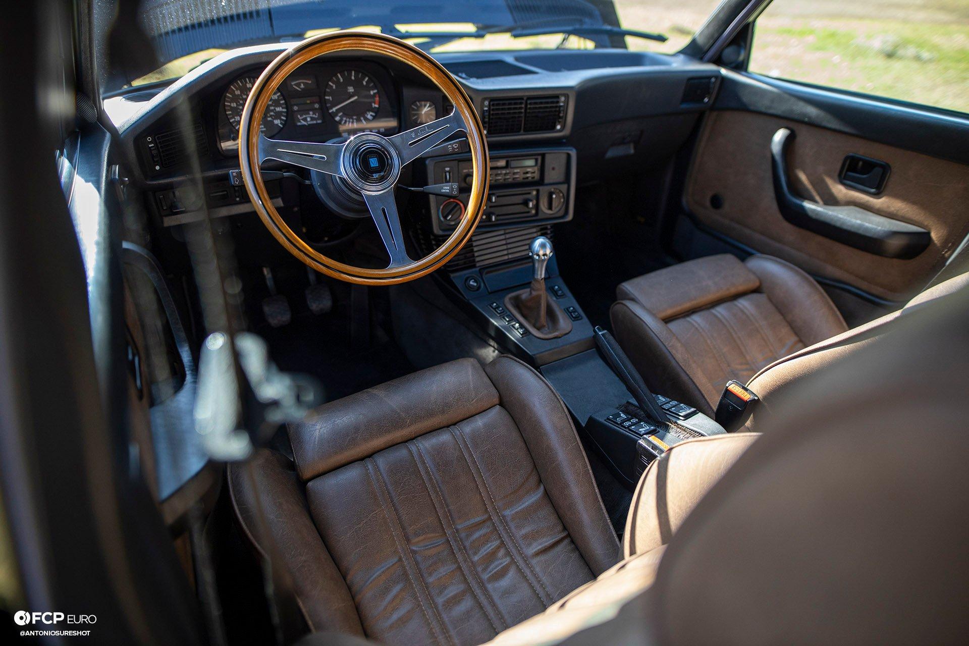 BMW E28 M60B40 V8 Engine Swap 535i Interior