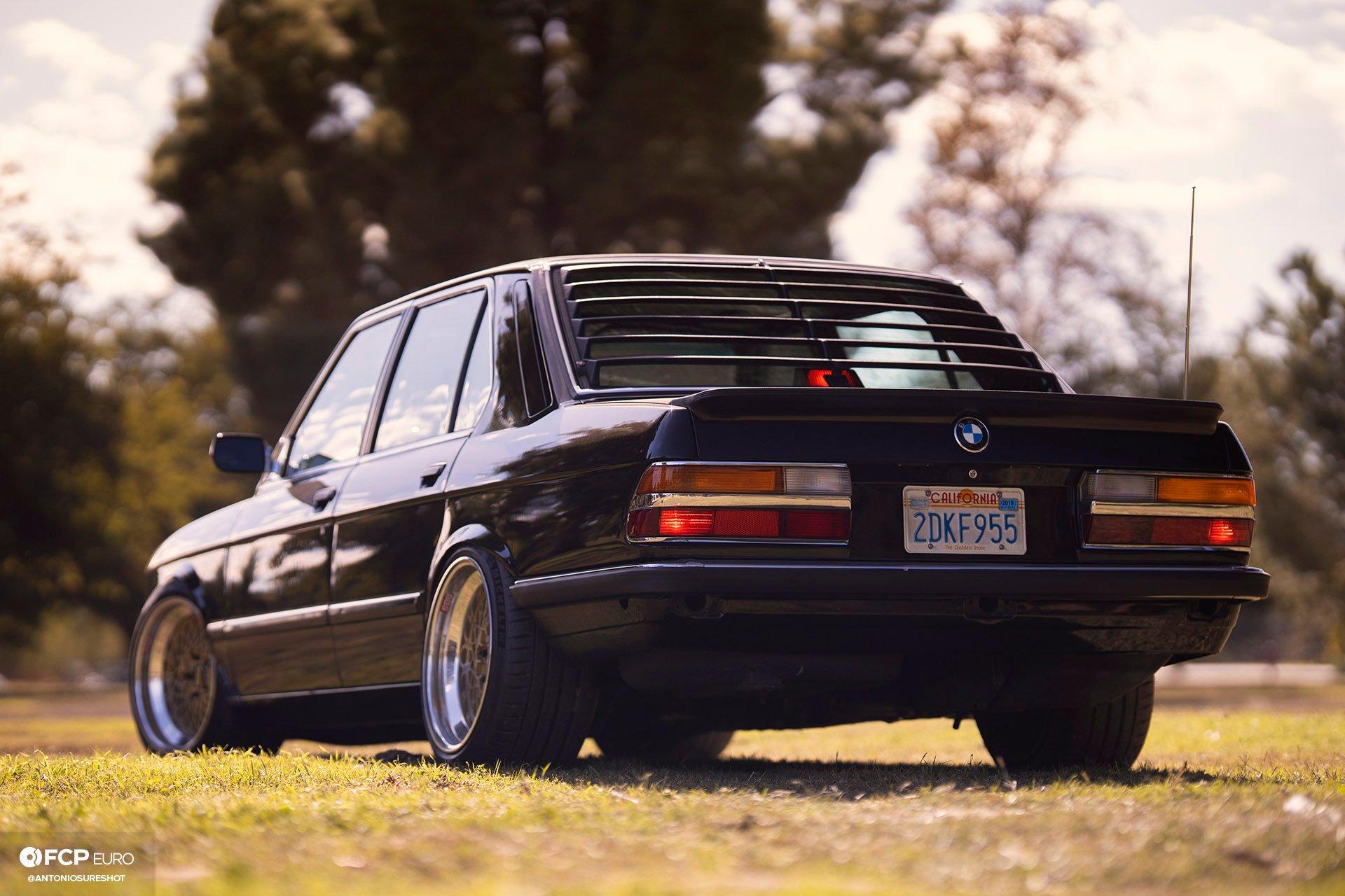BMW E28 M60B40 V8 Engine Swap 535i Rear End