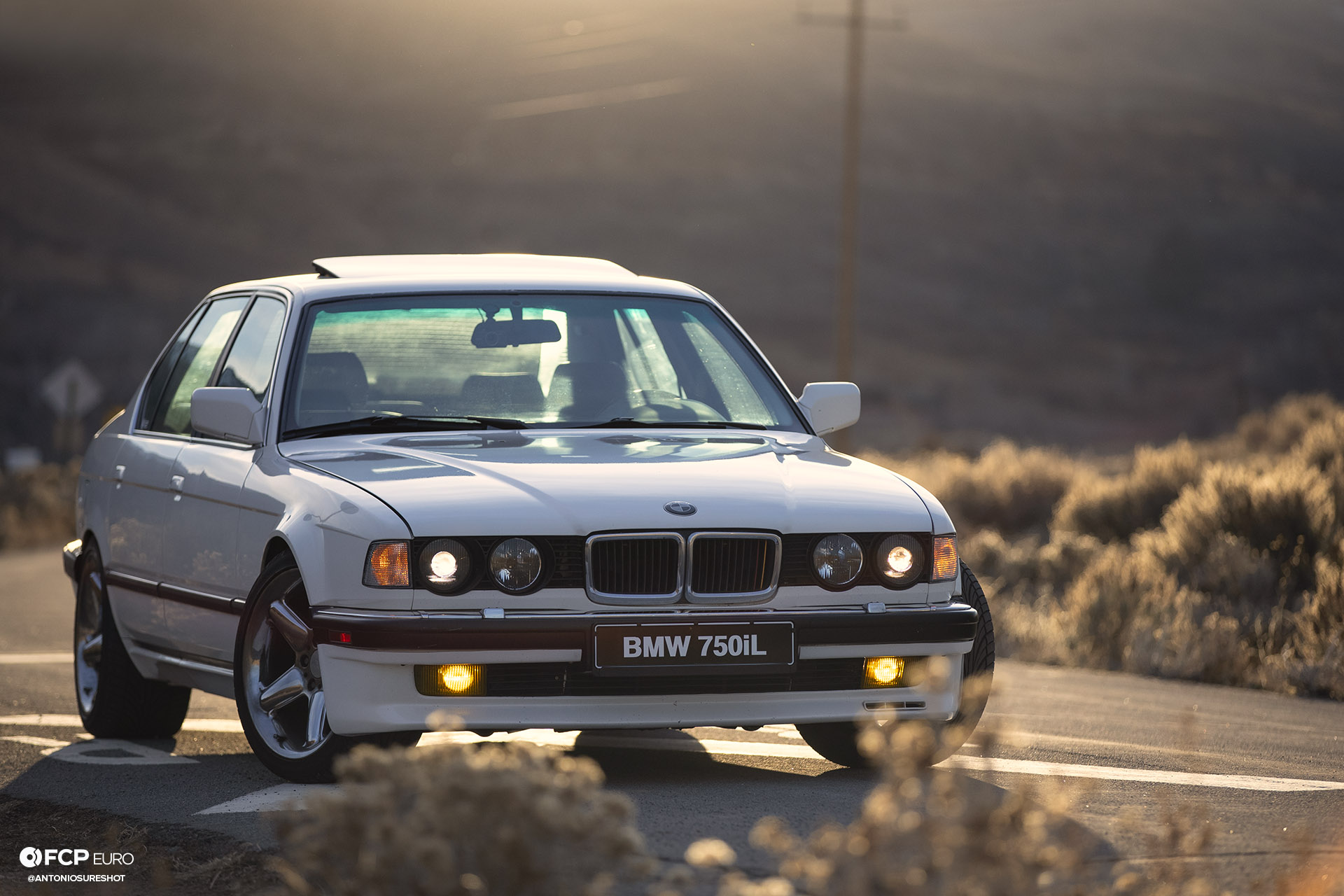 BMW E32 750iL 6 speed ANT23894