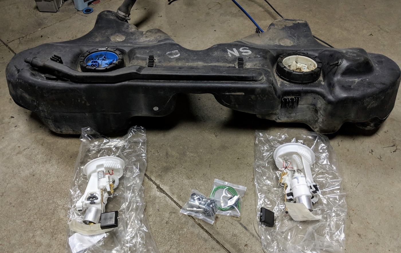 BMW E36 M3 Fuel Pump upgrade