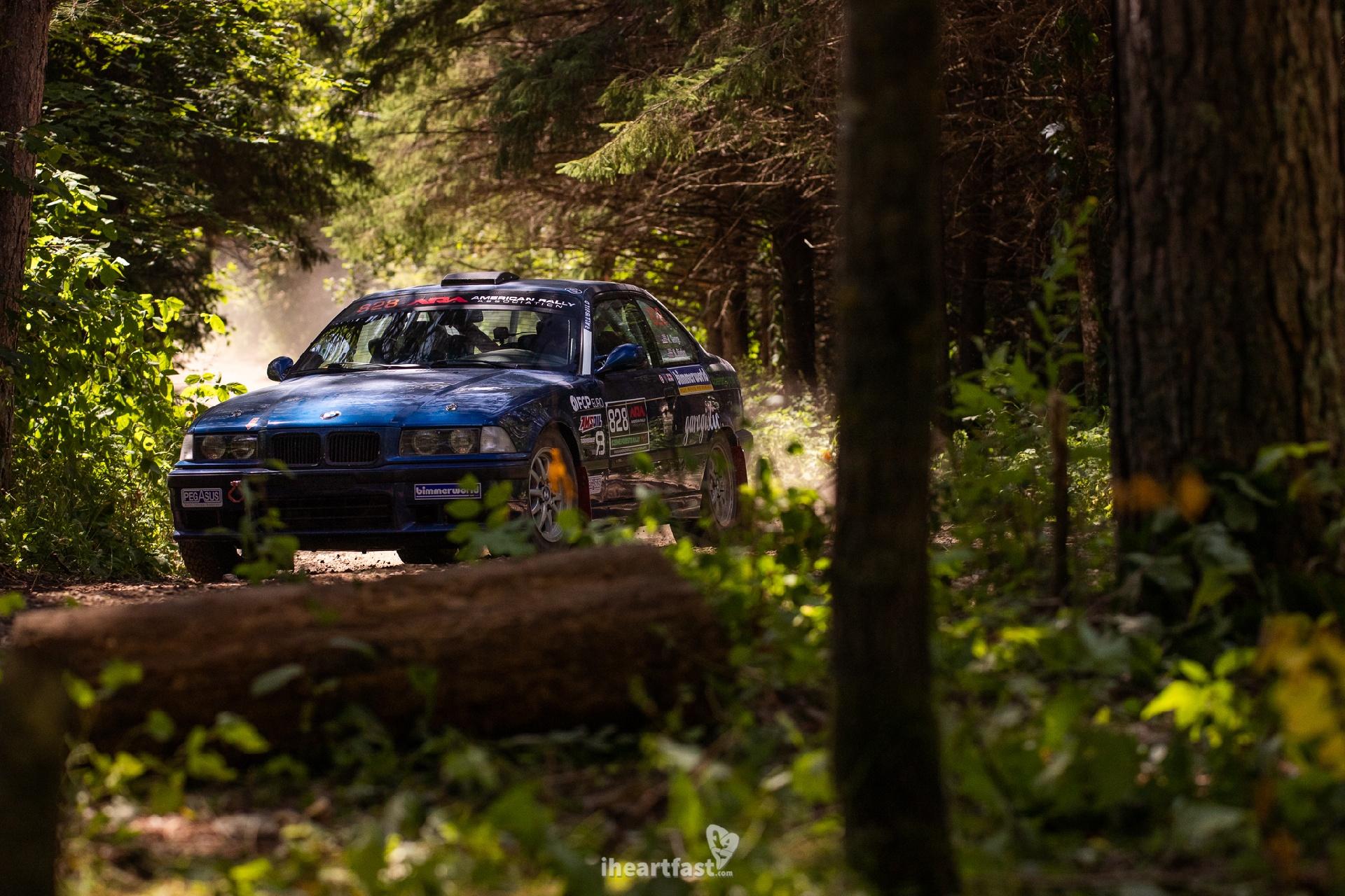 Bearded Ryno Rally Team Rally Car Ojibwe Forest Rally