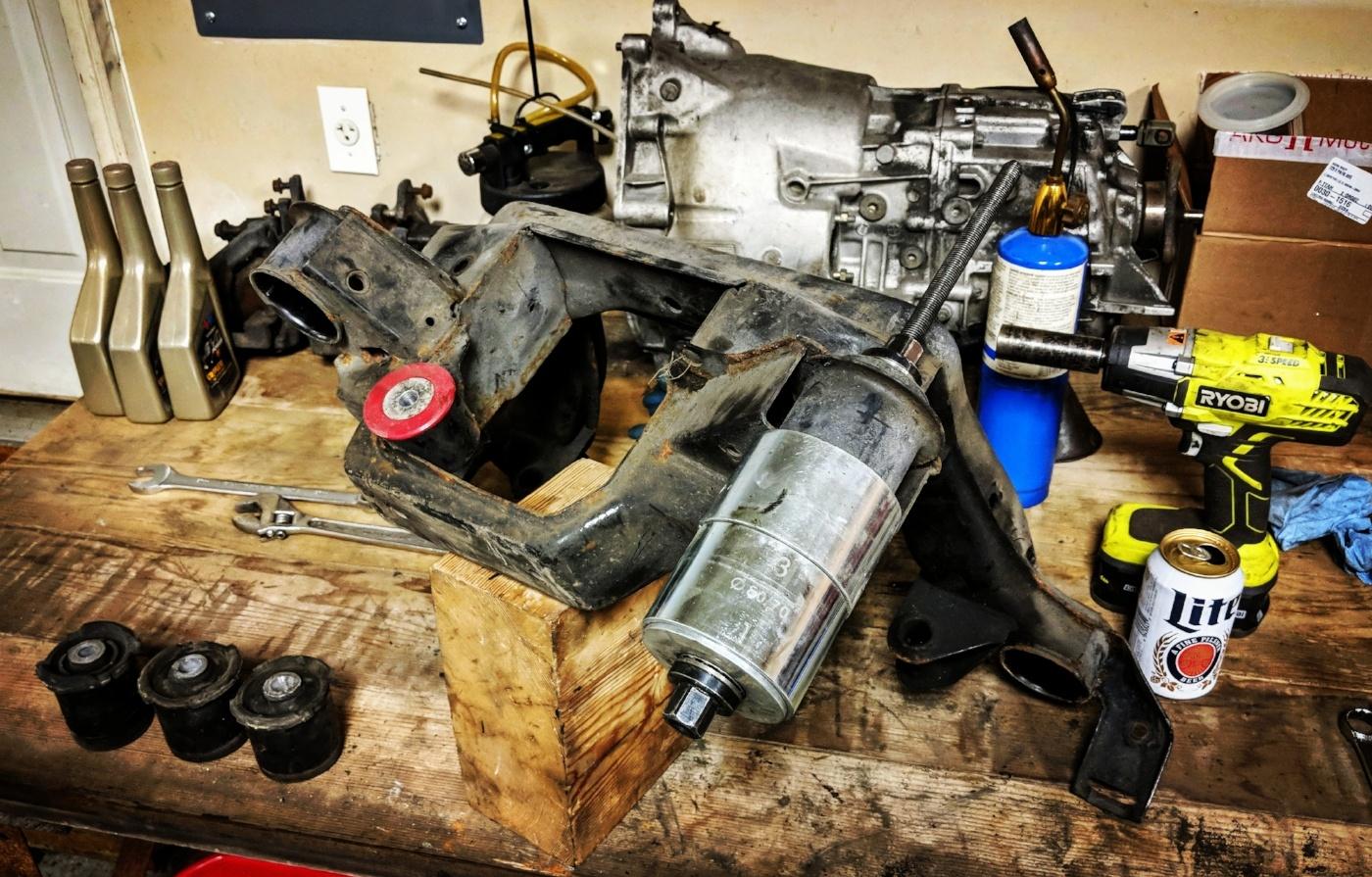 BMW E36 M3 Rear Subframe Bushings