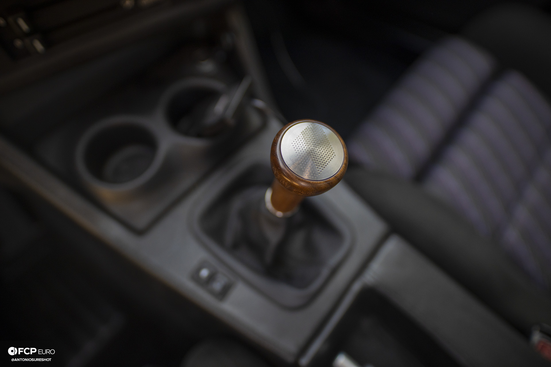CAtuned Daytona Violet E30 BMW Shift Knob