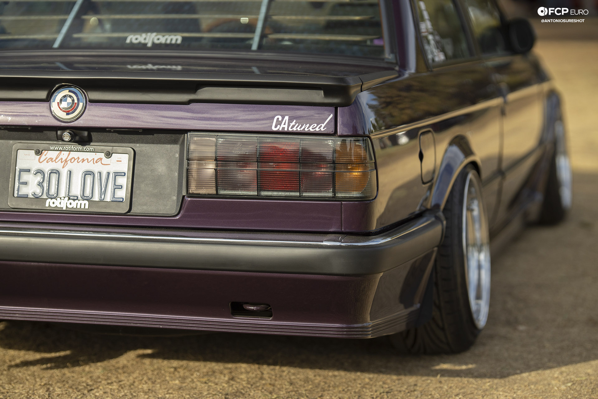 CAtuned Daytona Violet E30 BMW Tail Lights