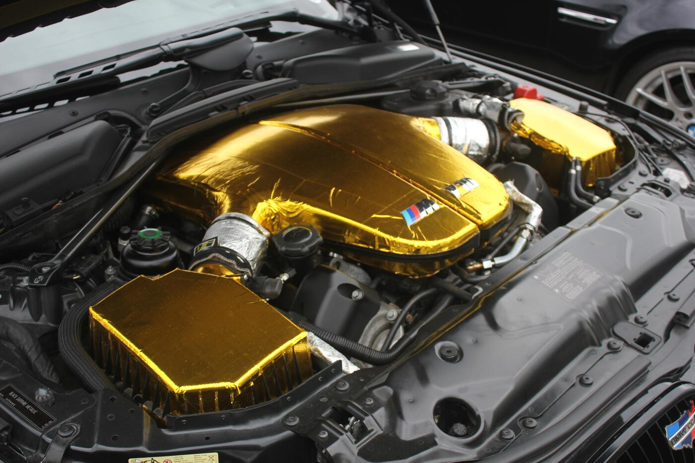 Why This V10 Bmw M5 S Engine Bay Is Coated In Gold